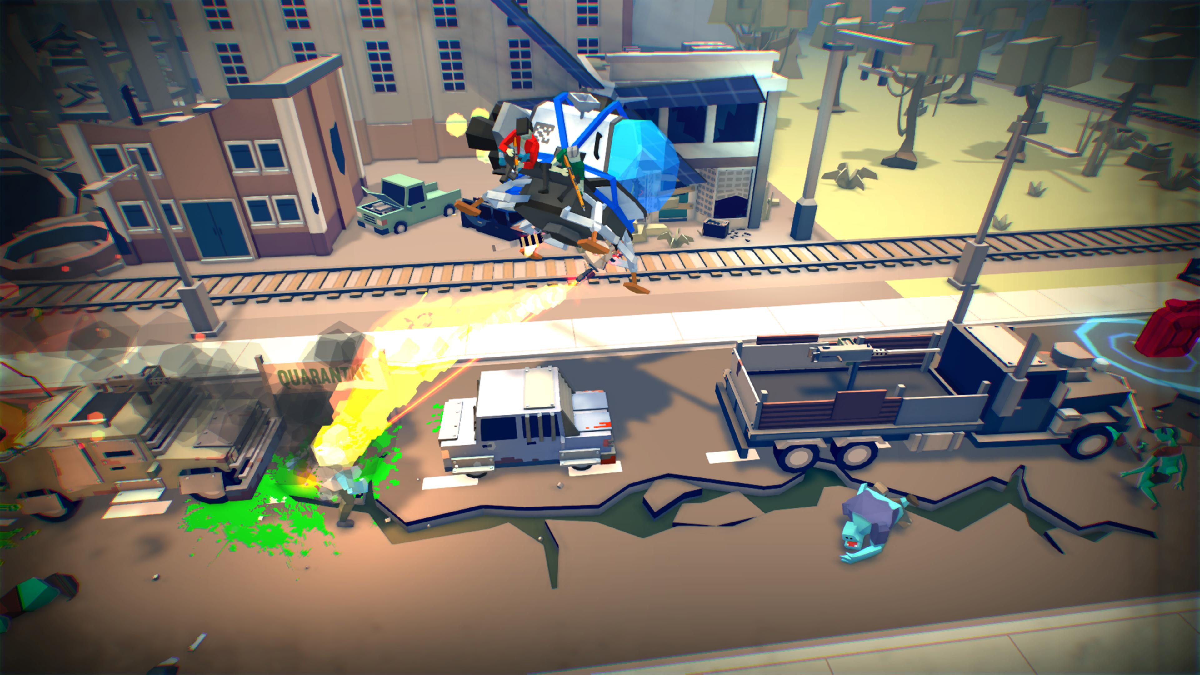 Скриншот №1 к Dustoff Z