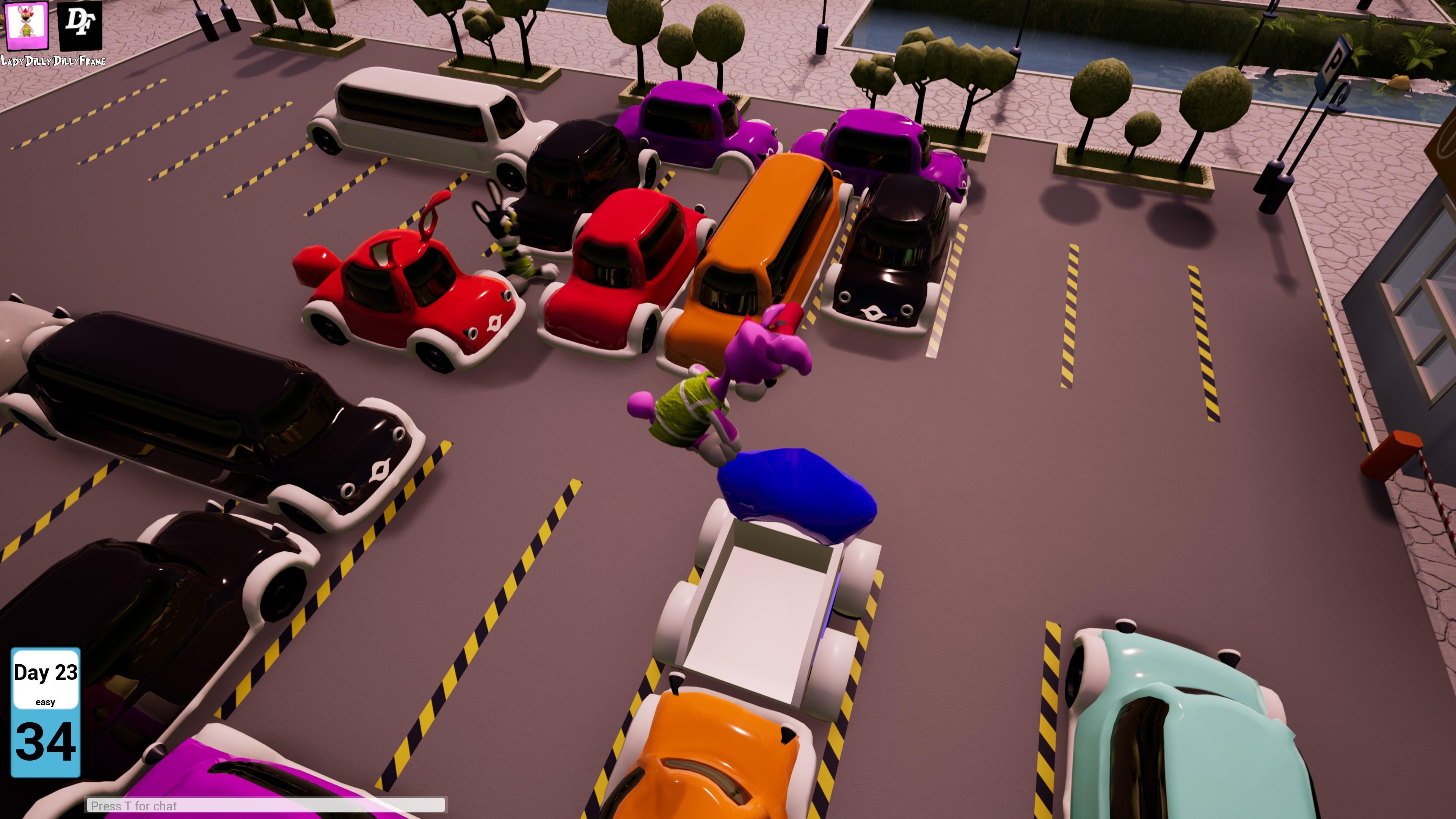 Скриншот №1 к Bunny Parking