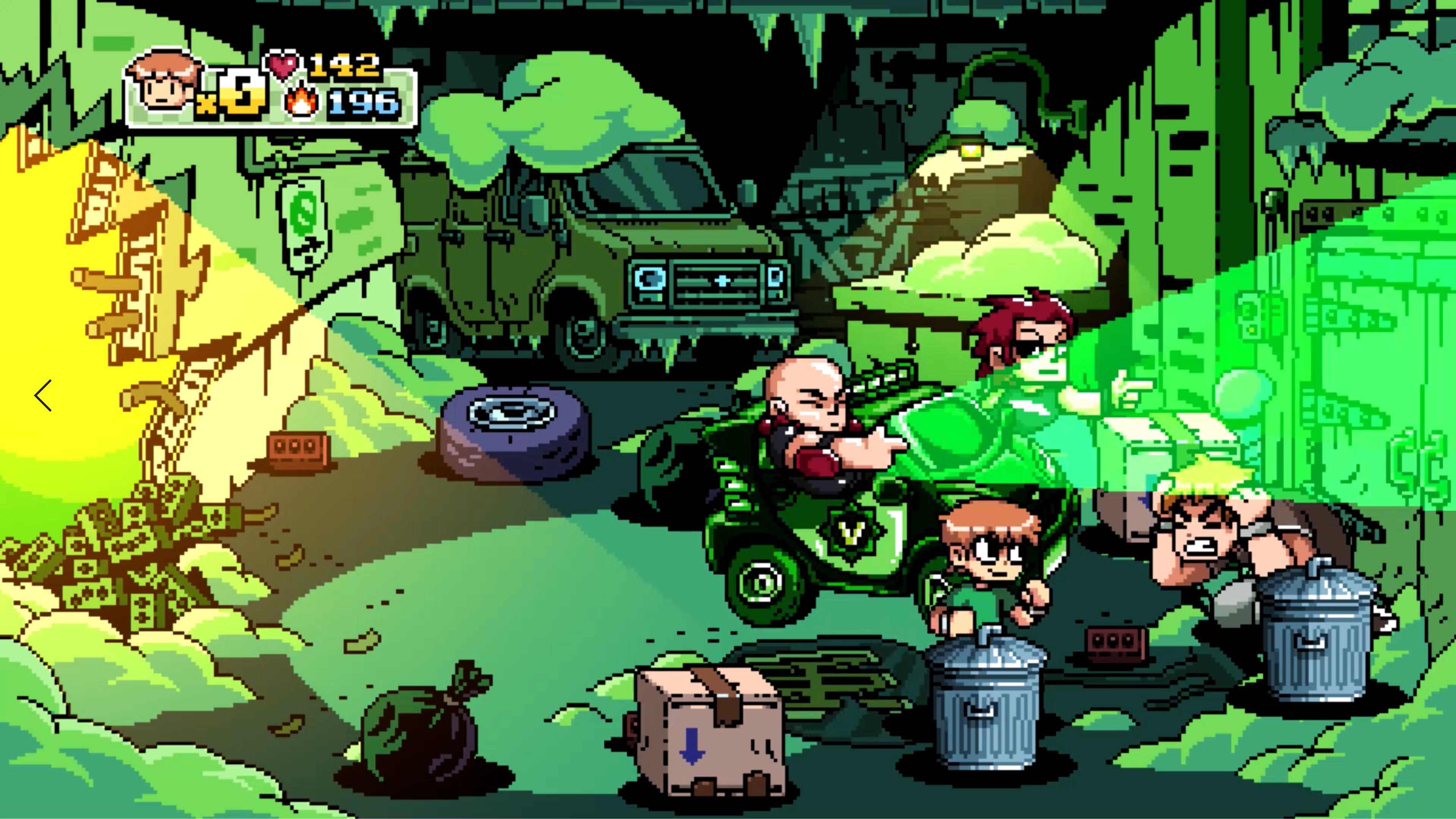 Скриншот №6 к Scott Pilgrim vs. The World The Game – Complete Edition