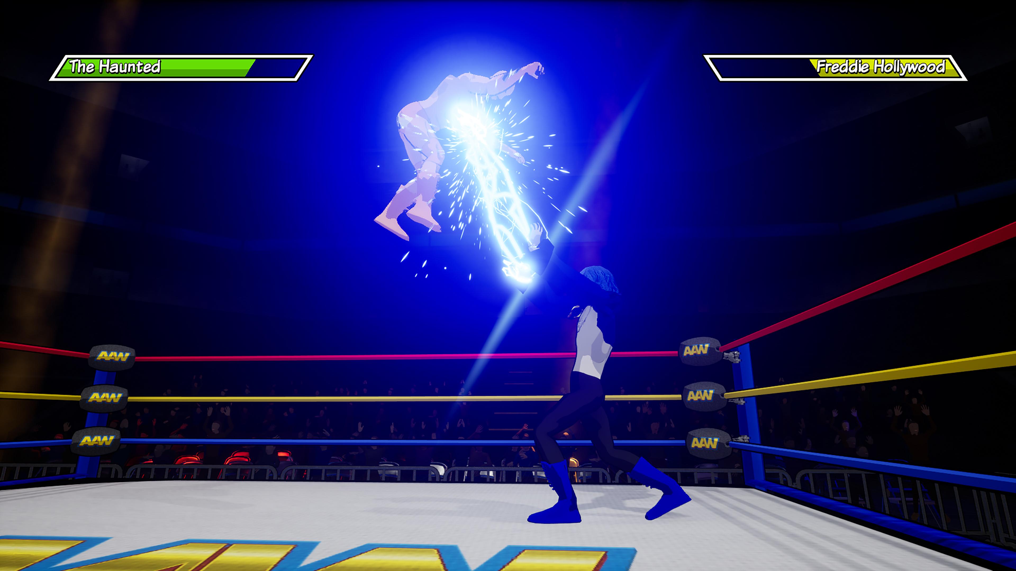 Скриншот №1 к Action Arcade Wrestling