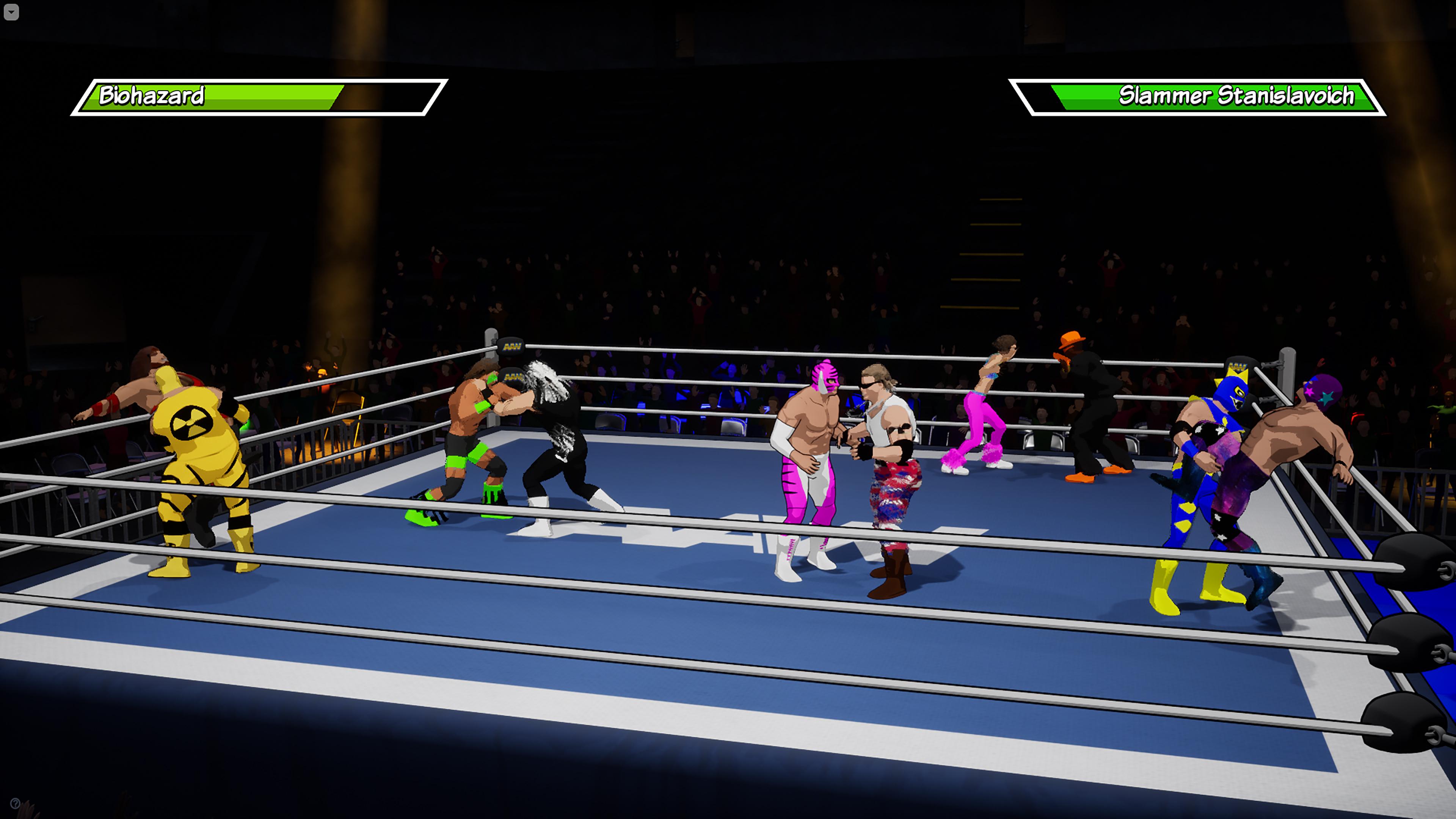 Скриншот №4 к Action Arcade Wrestling