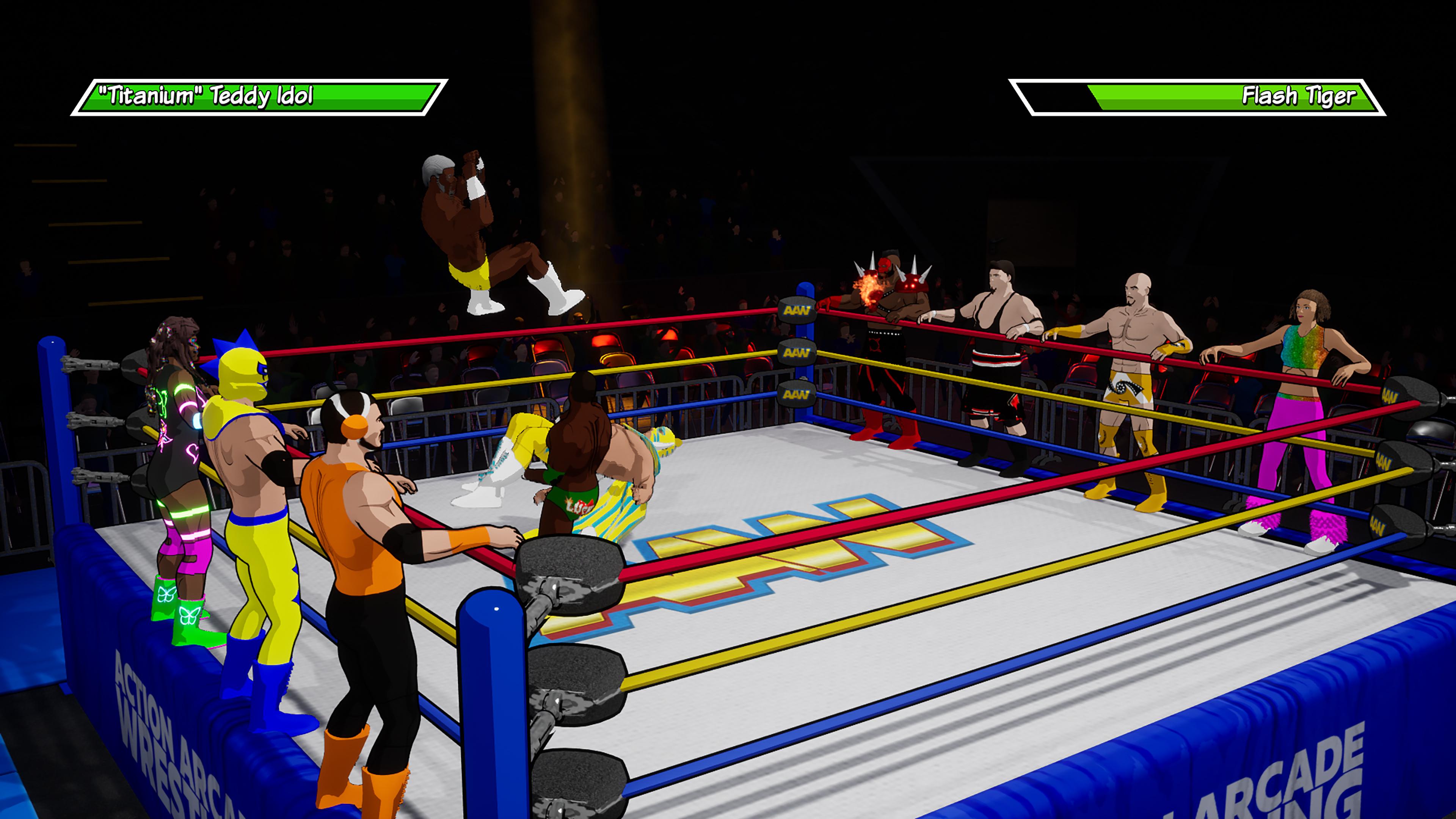 Скриншот №2 к Action Arcade Wrestling