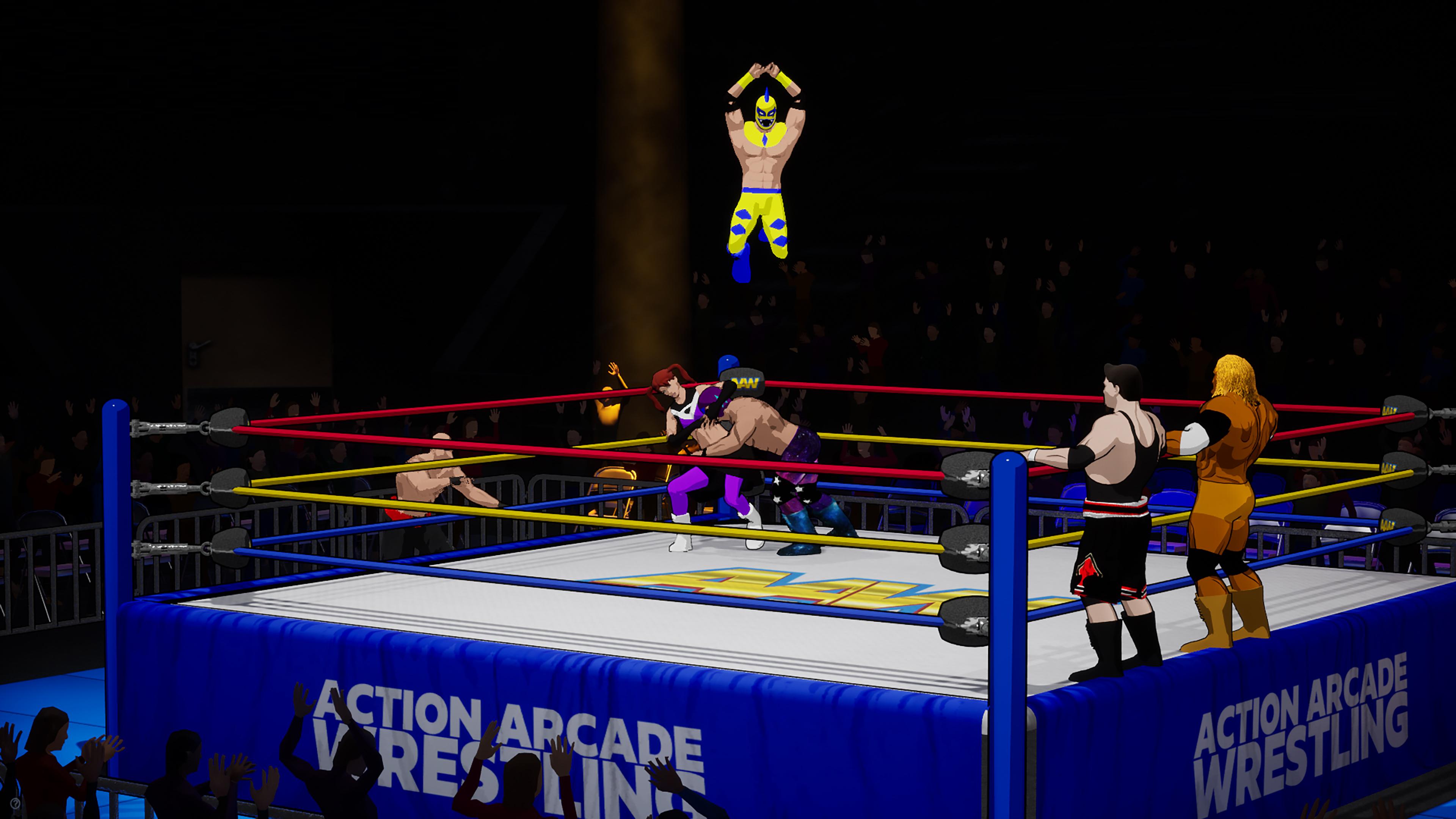 Скриншот №5 к Action Arcade Wrestling