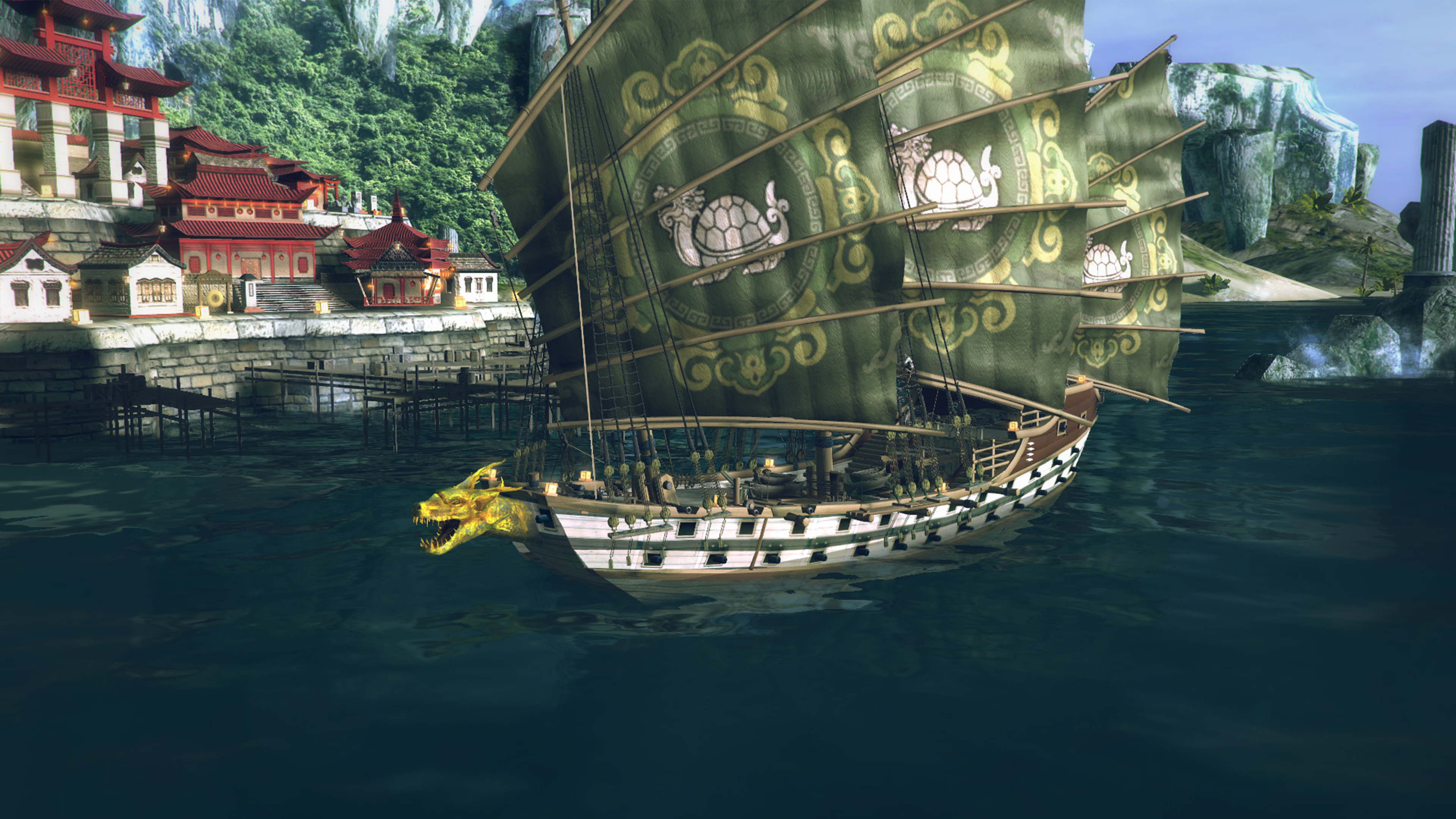 Скриншот №5 к Under the Jolly Roger - Jade Sea