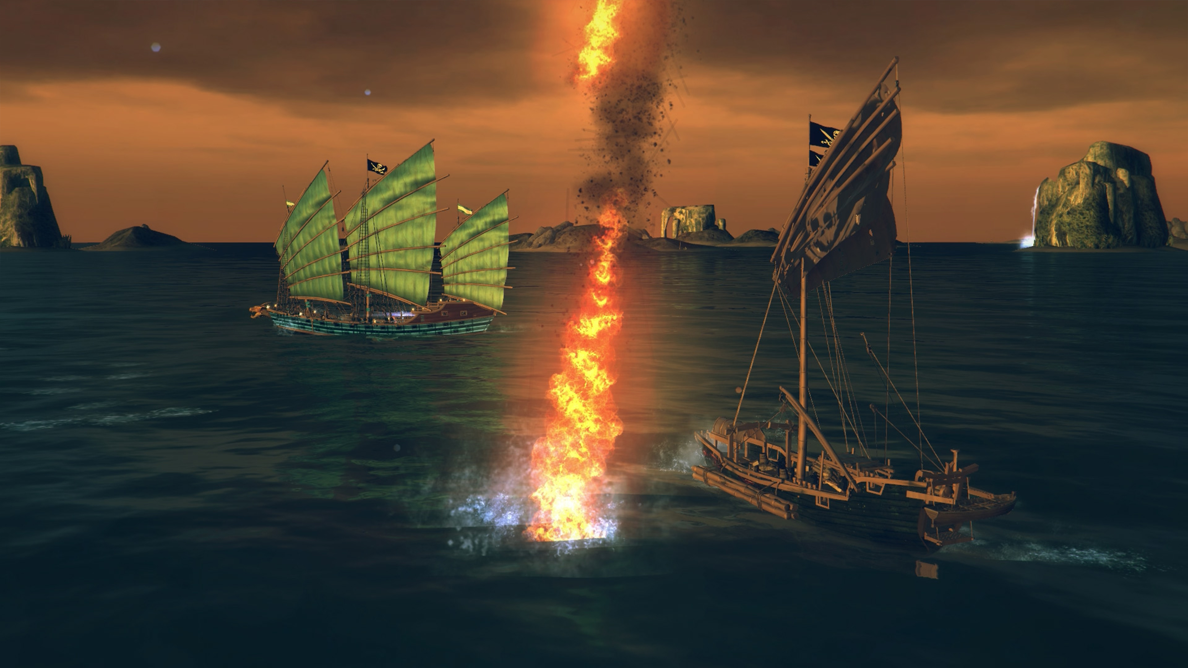 Скриншот №6 к Under the Jolly Roger - Jade Sea