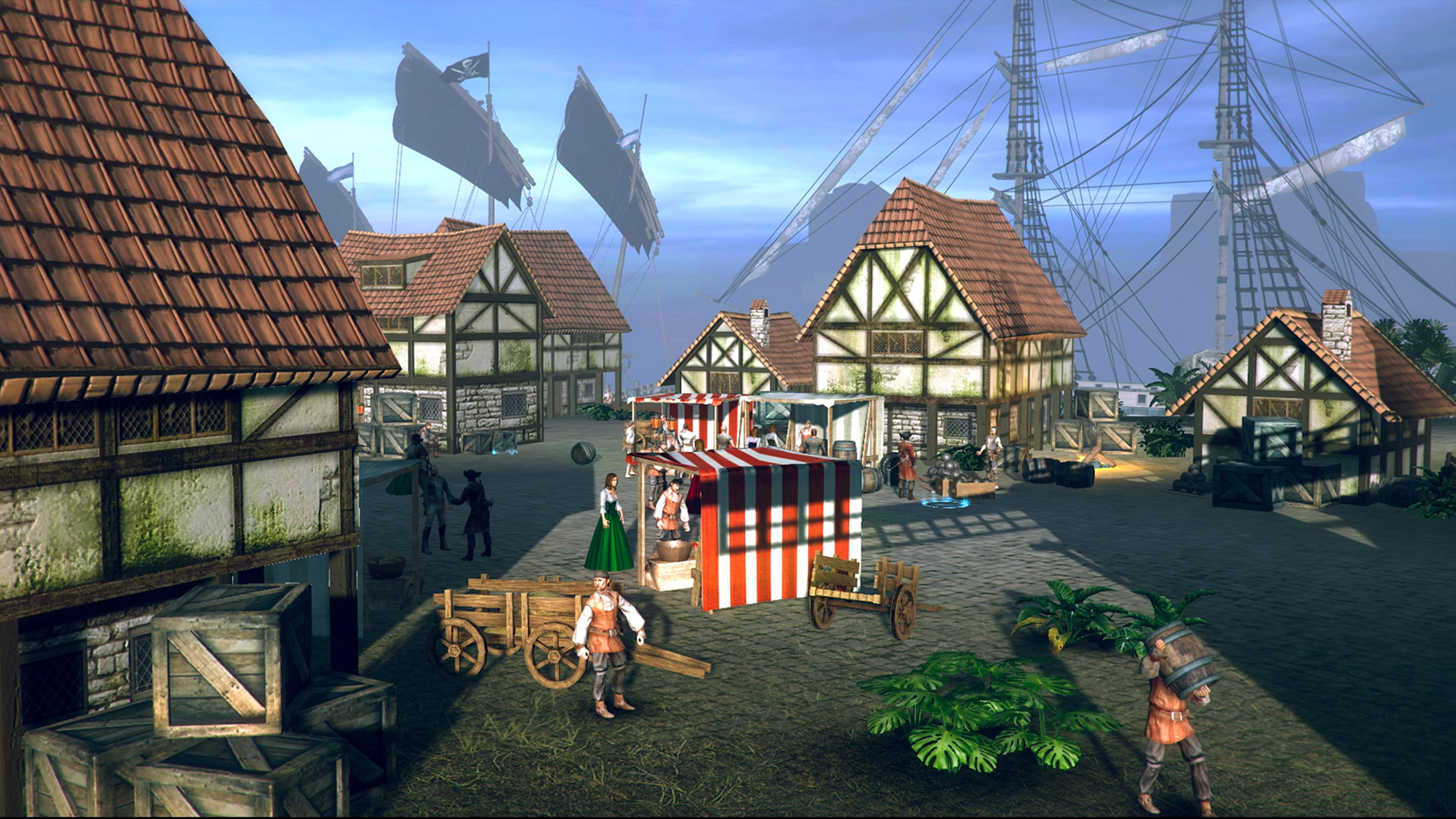Скриншот №4 к Under the Jolly Roger - Jade Sea