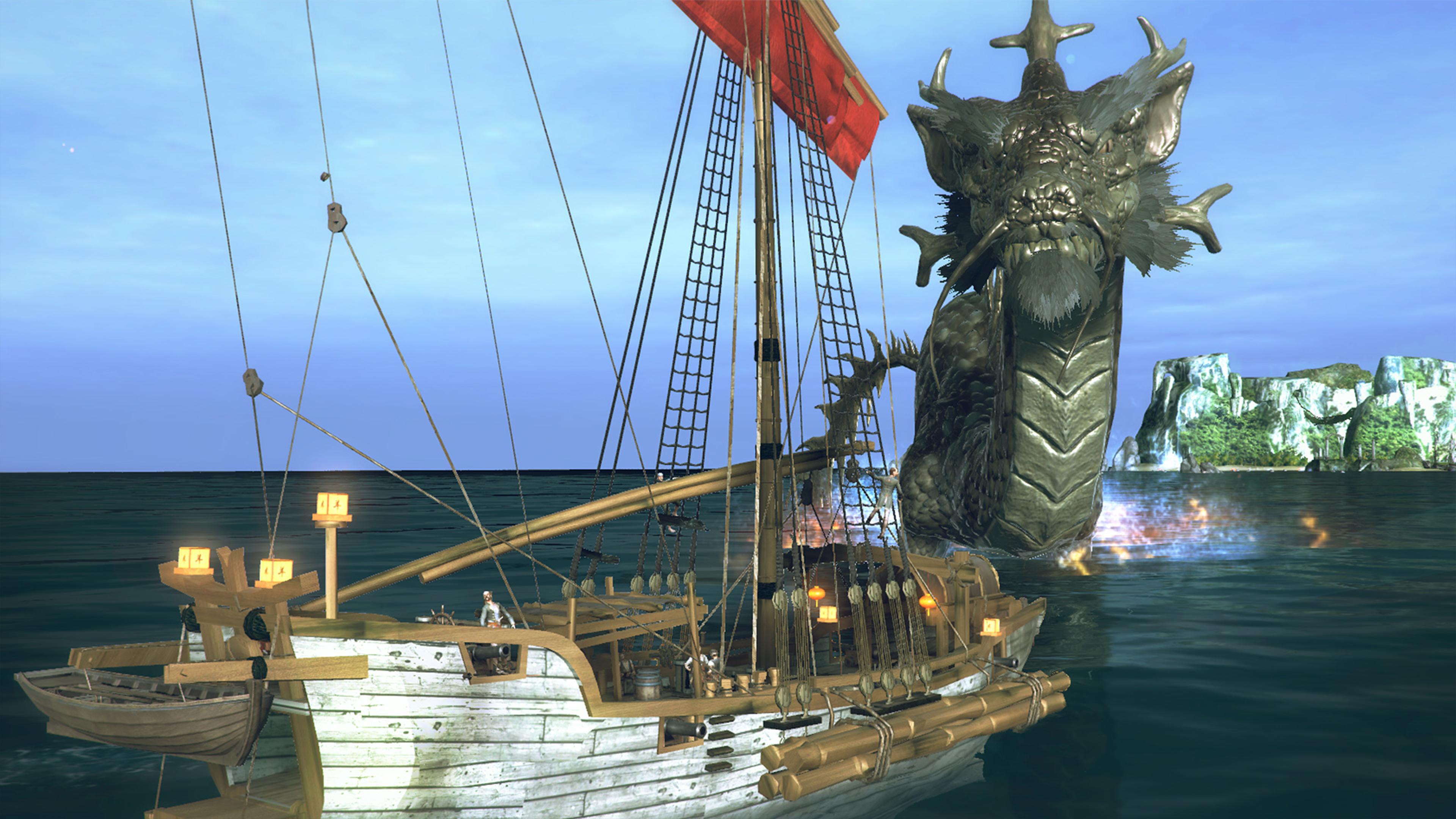 Скриншот №2 к Under the Jolly Roger - Jade Sea