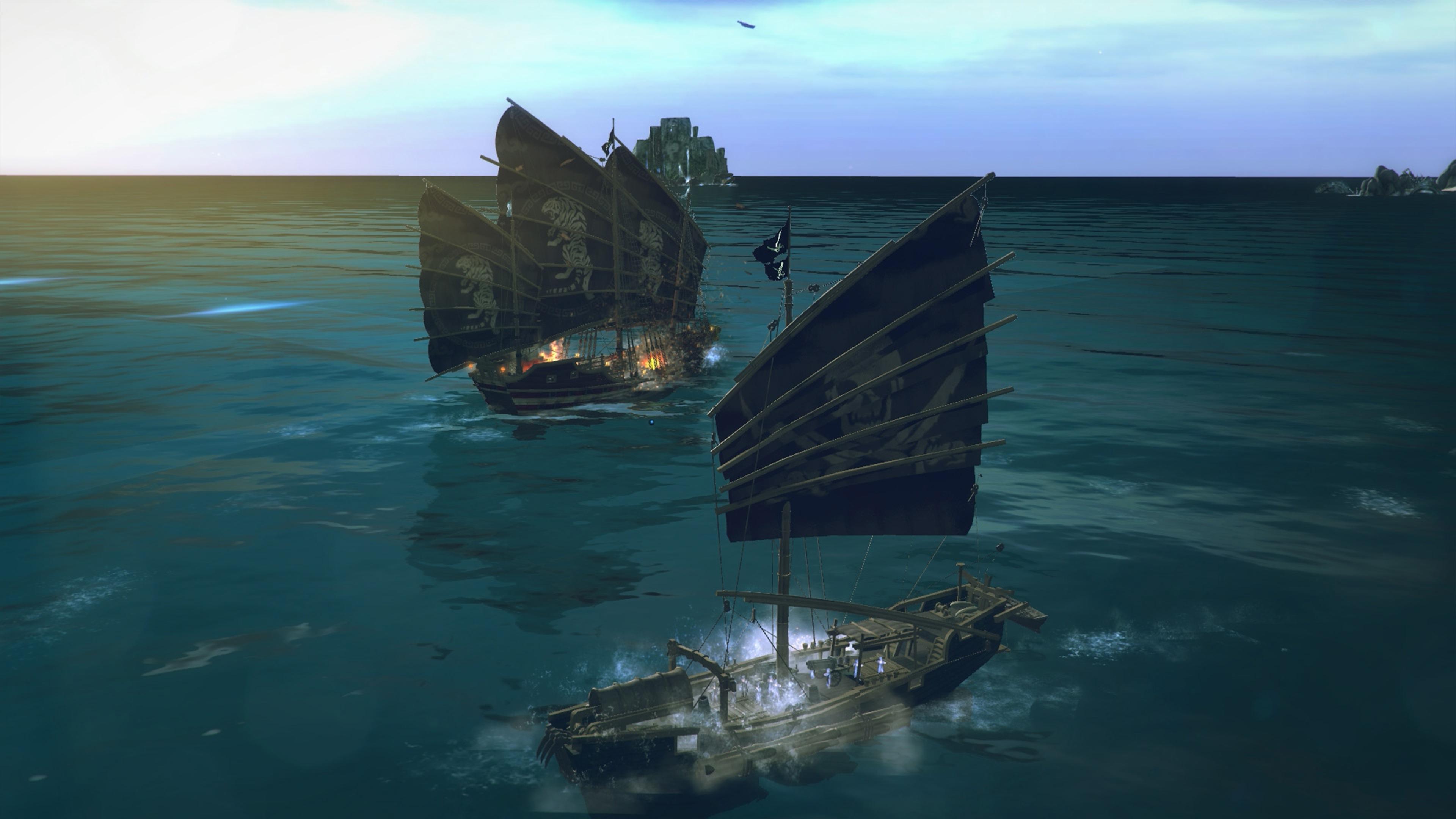 Скриншот №7 к Under the Jolly Roger - Jade Sea