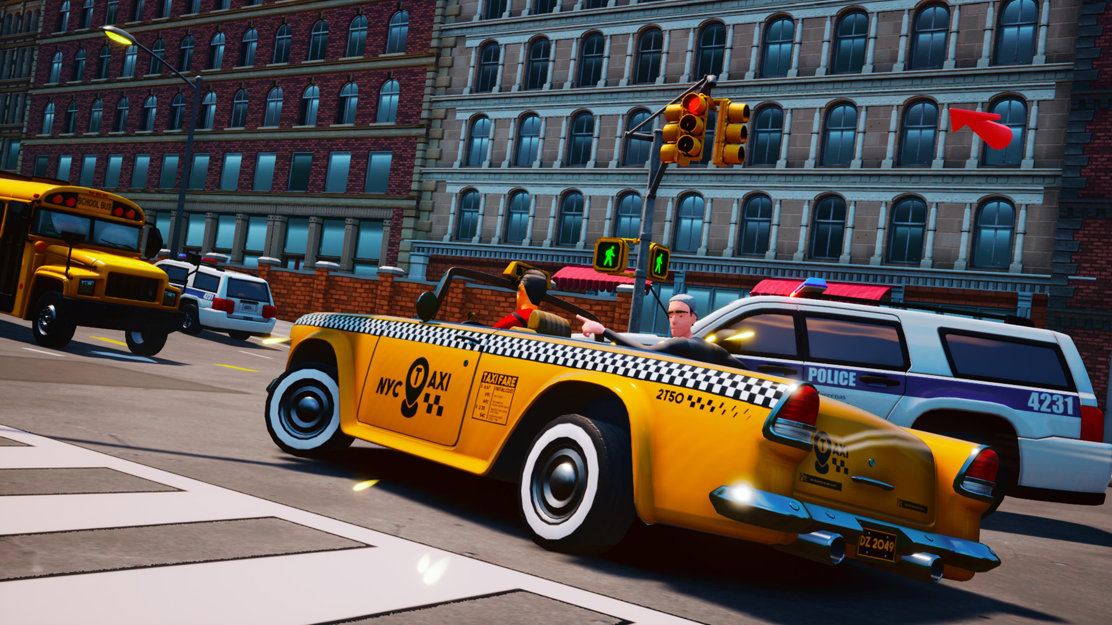 Скриншот №1 к Taxi Chaos