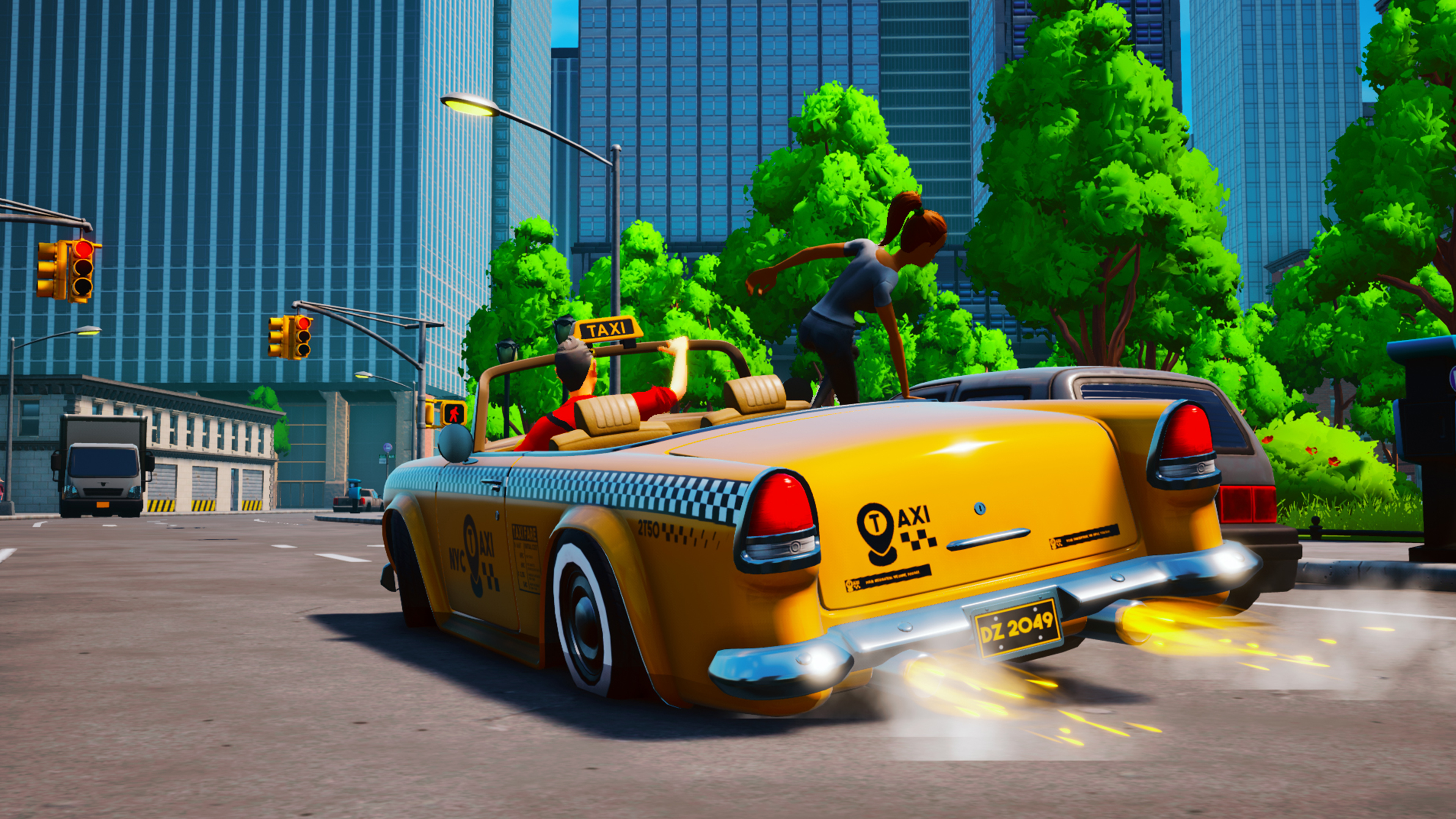 Скриншот №5 к Taxi Chaos
