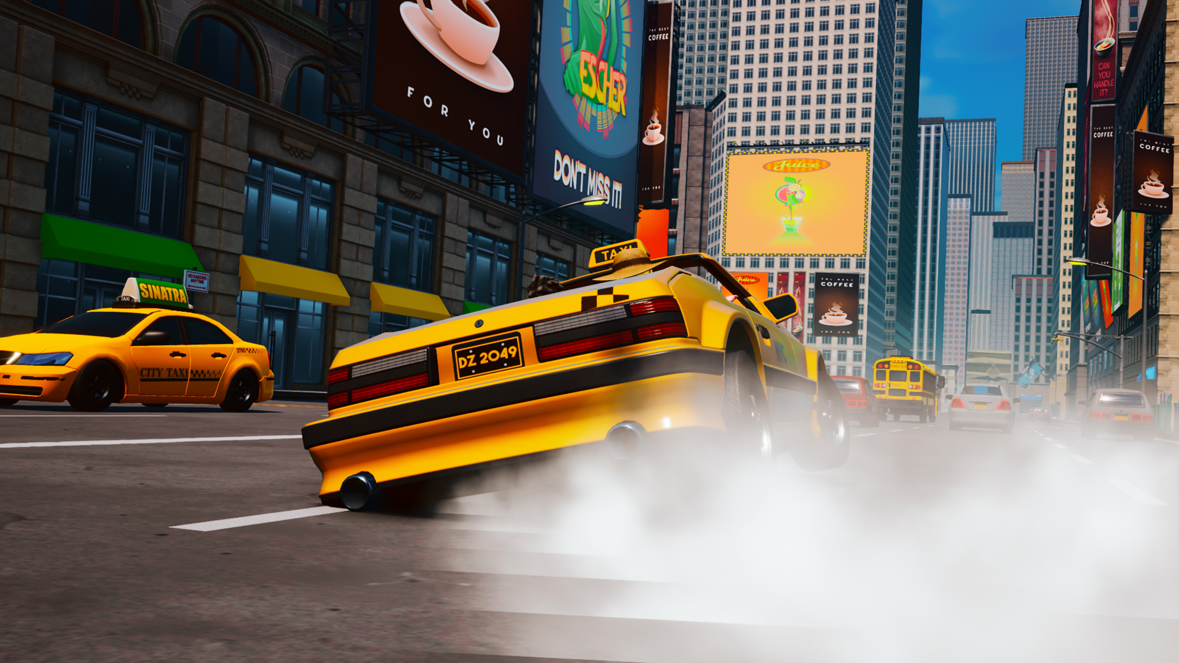 Скриншот №4 к Taxi Chaos