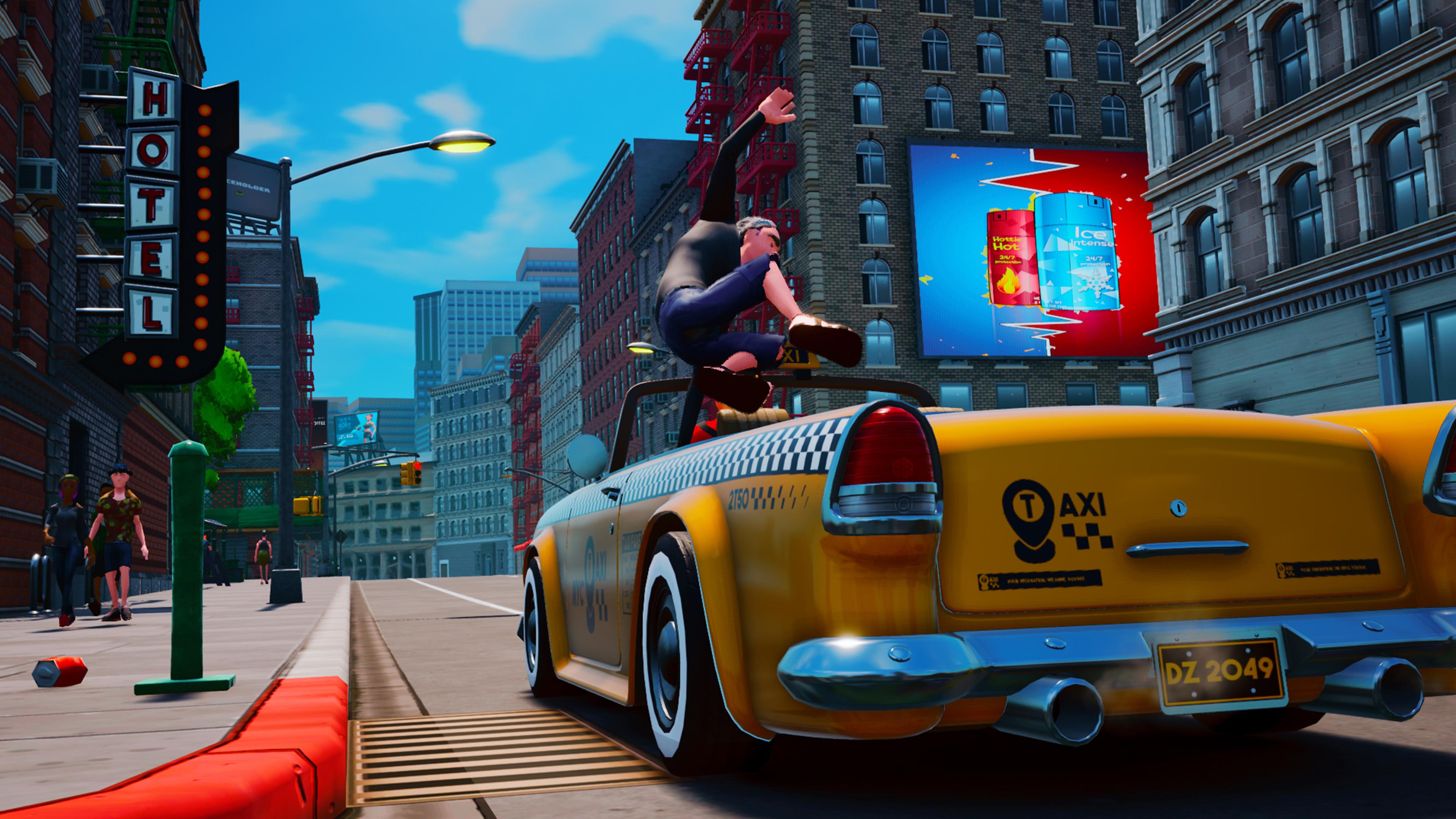 Скриншот №3 к Taxi Chaos