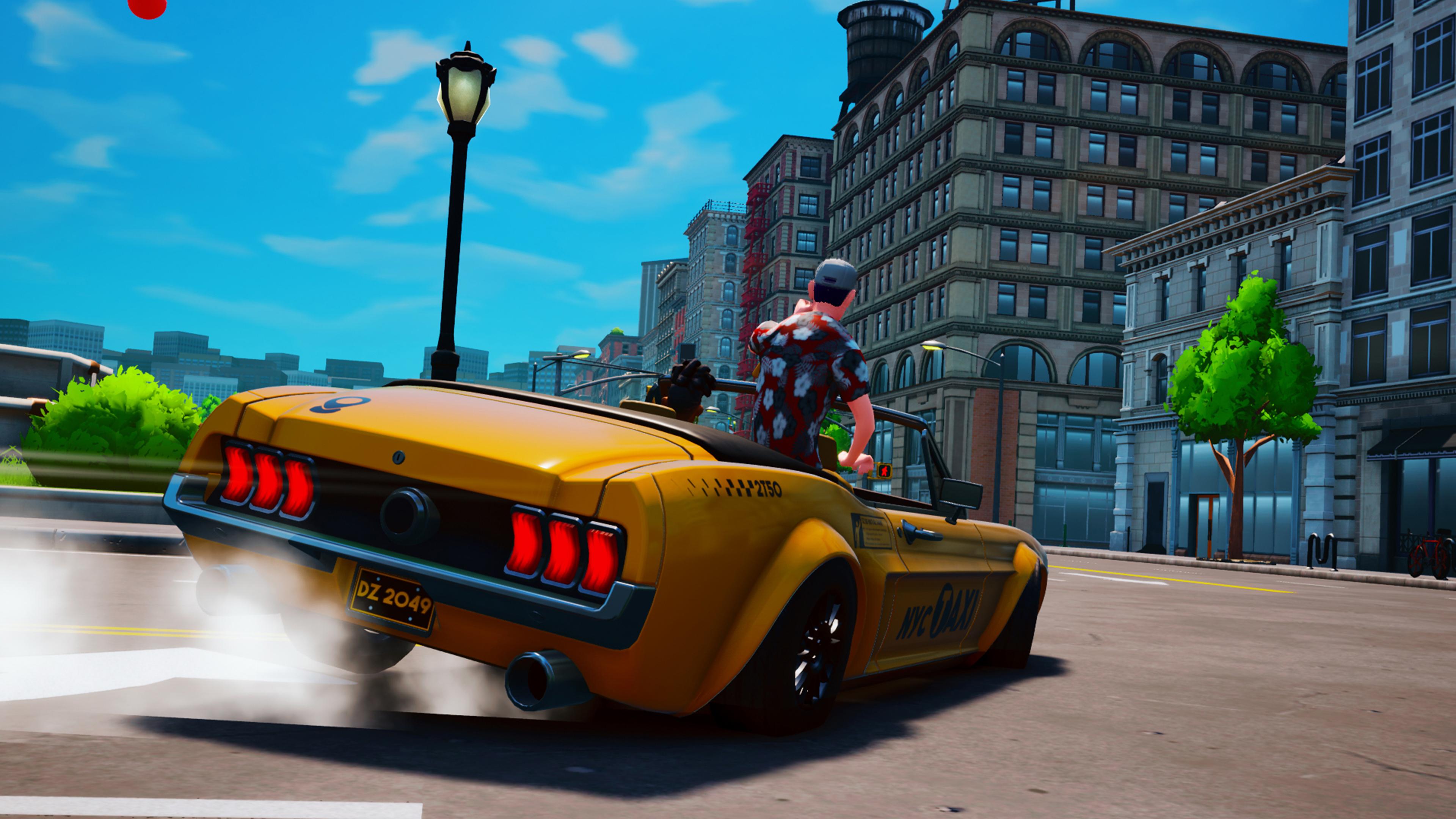 Скриншот №2 к Taxi Chaos