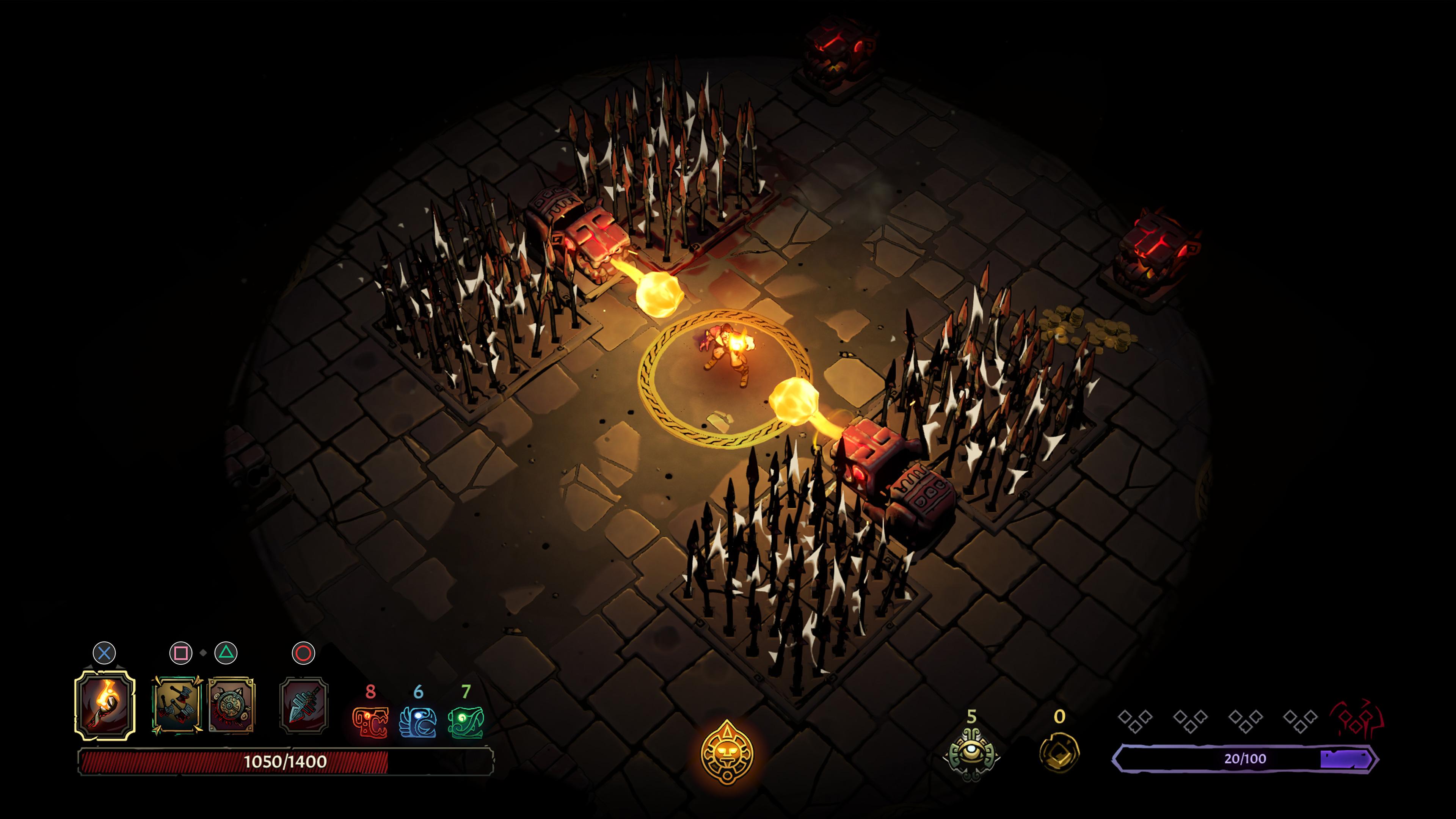 Скриншот №2 к Curse of the Dead Gods