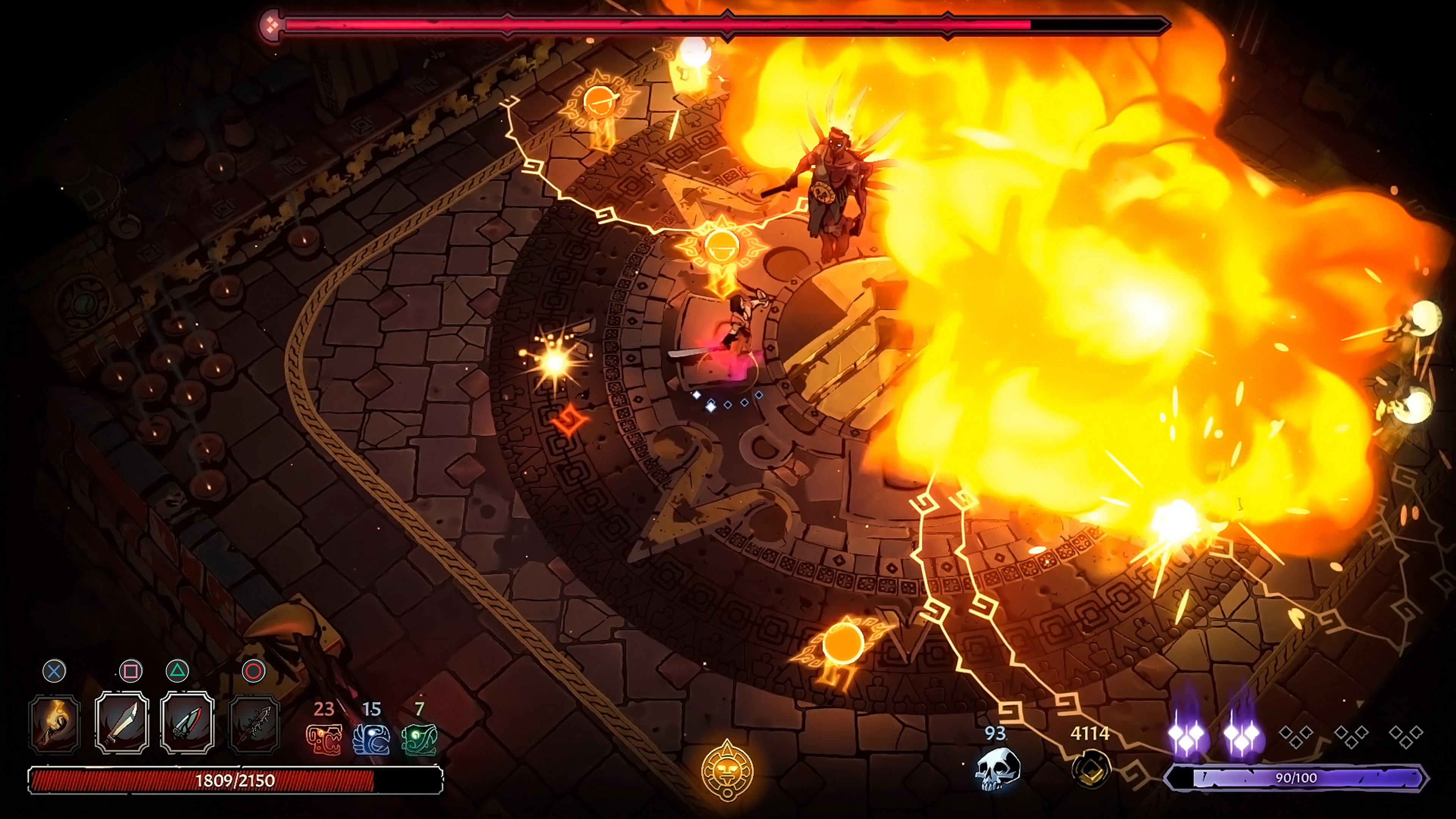 Скриншот №5 к Curse of the Dead Gods