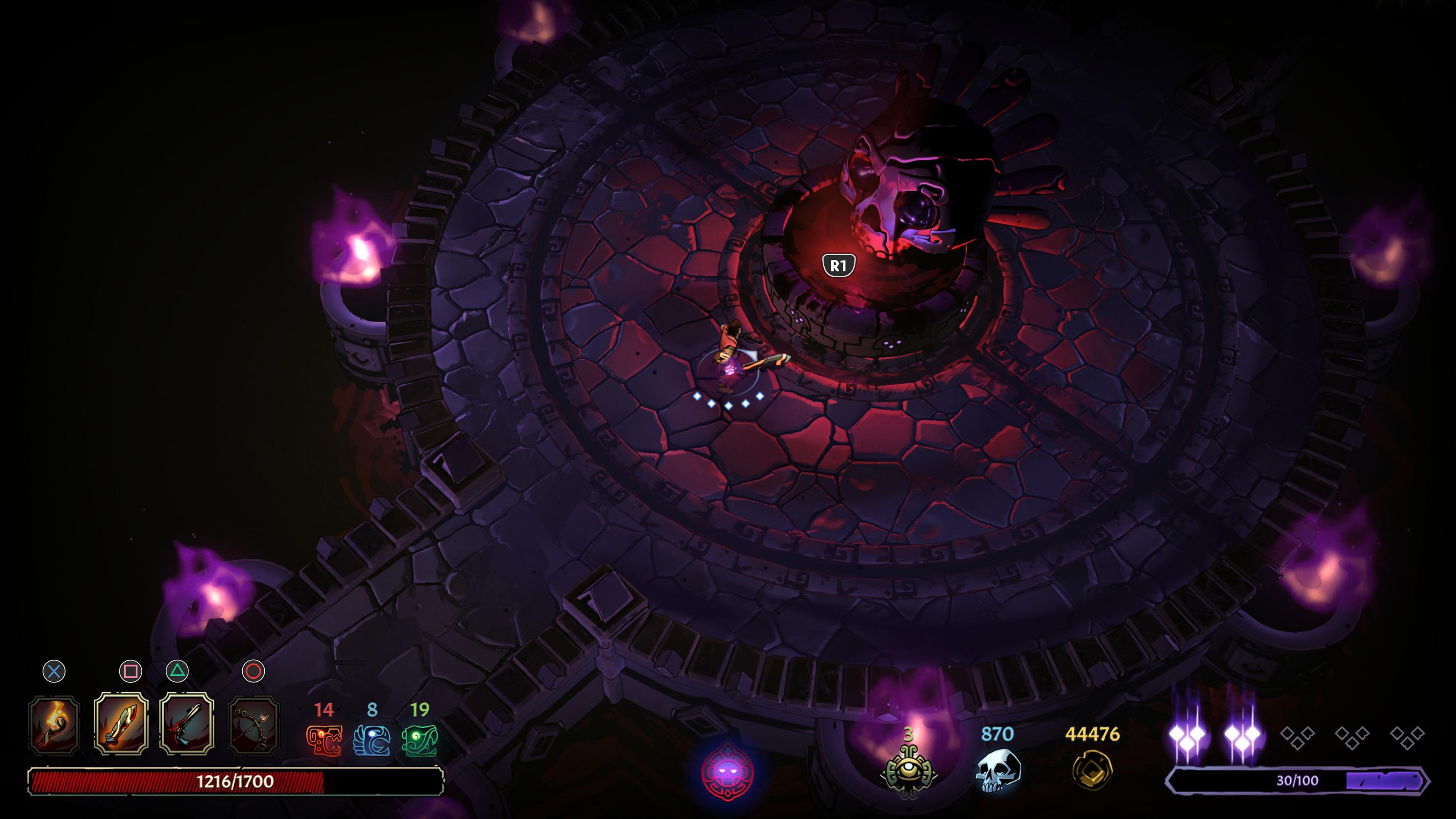 Скриншот №8 к Curse of the Dead Gods