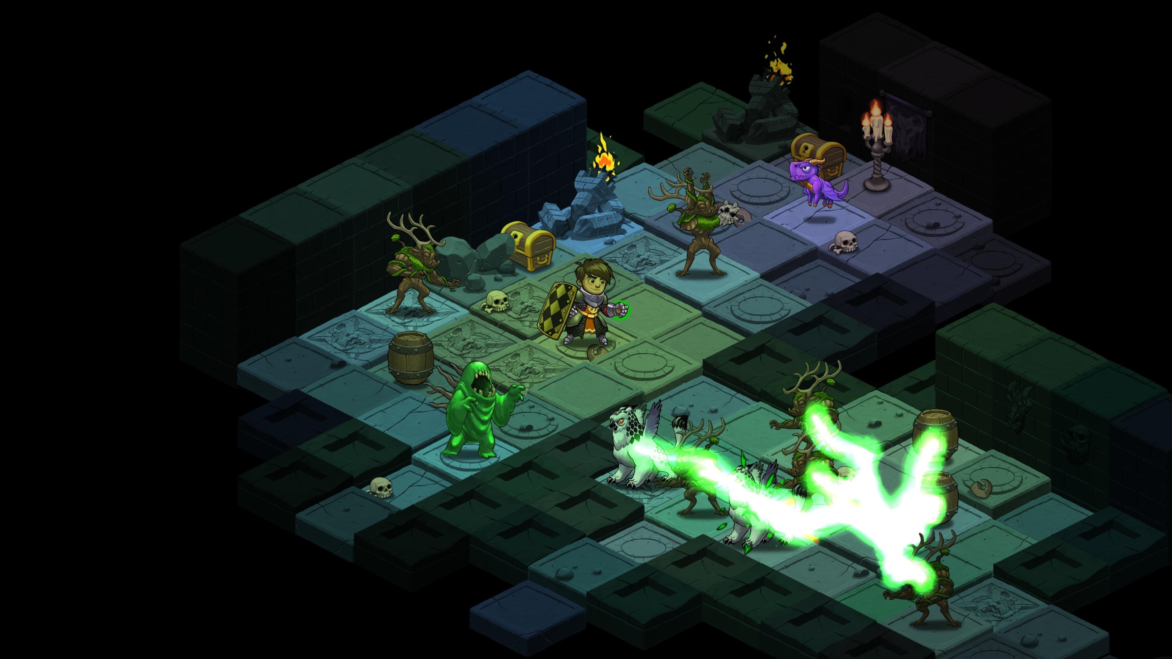 Скриншот №8 к Волшебники-разбойники Rogue Wizards