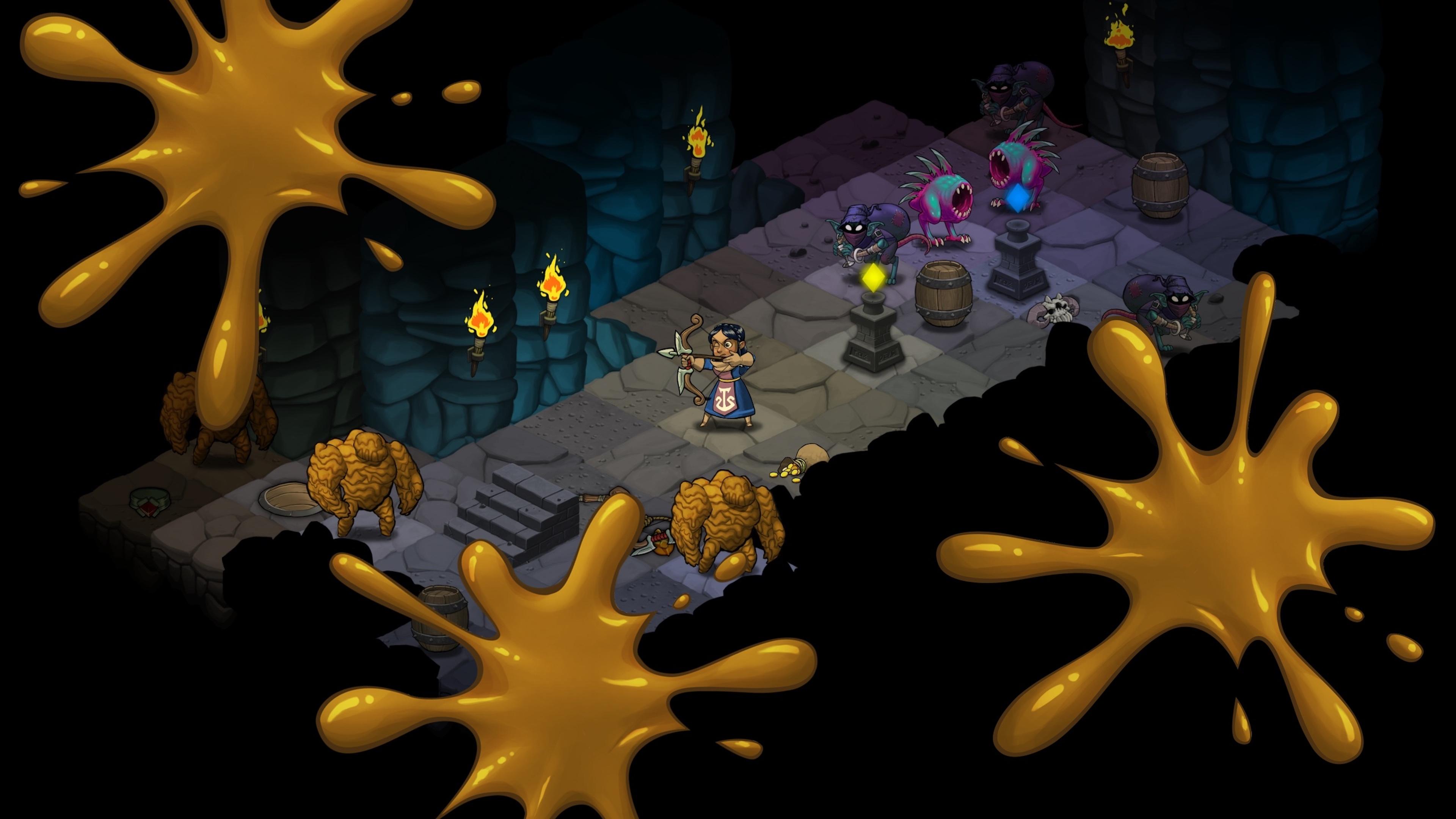 Скриншот №2 к Волшебники-разбойники Rogue Wizards