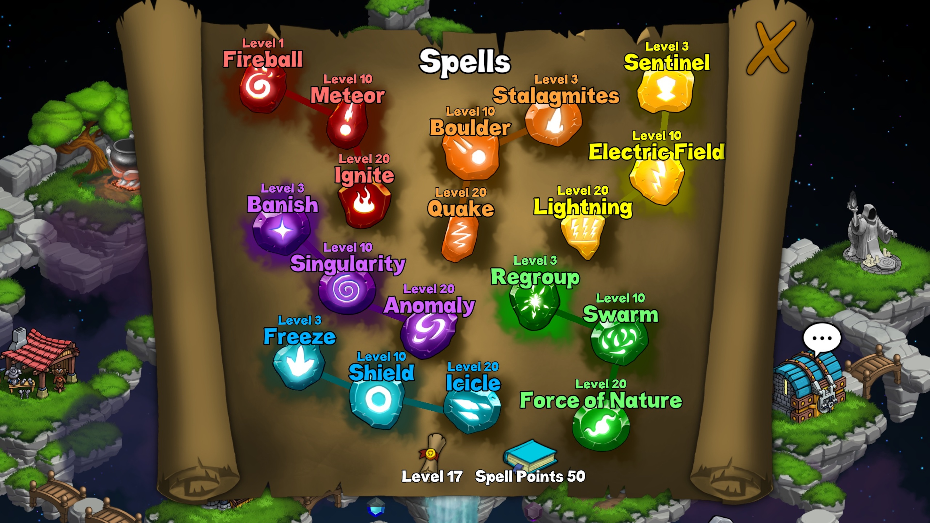 Скриншот №9 к Волшебники-разбойники Rogue Wizards