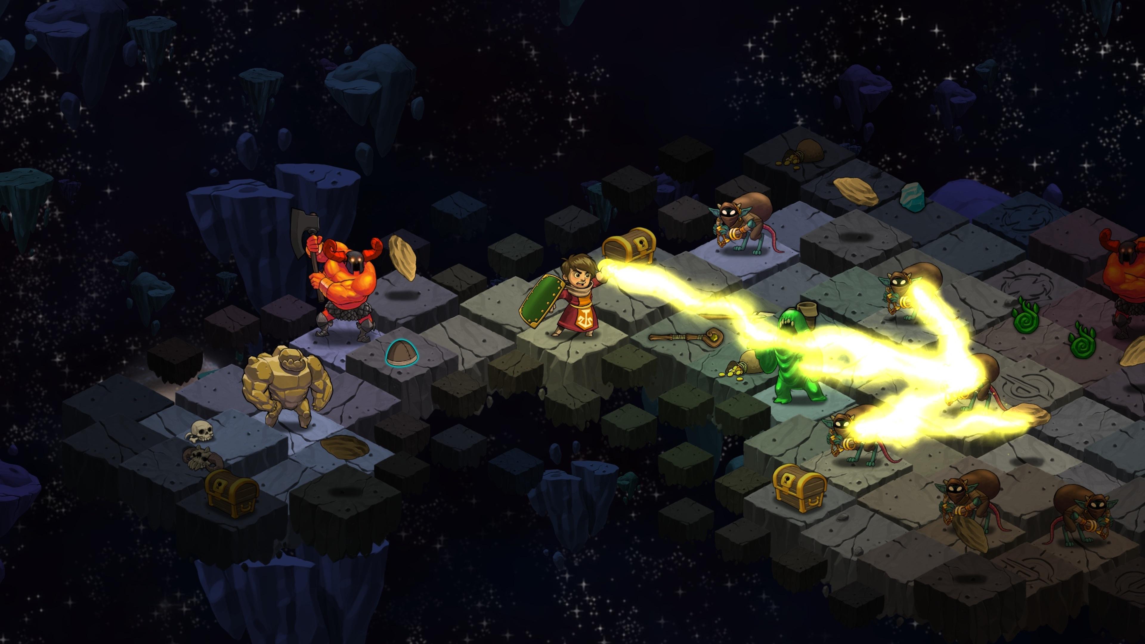 Скриншот №1 к Волшебники-разбойники Rogue Wizards