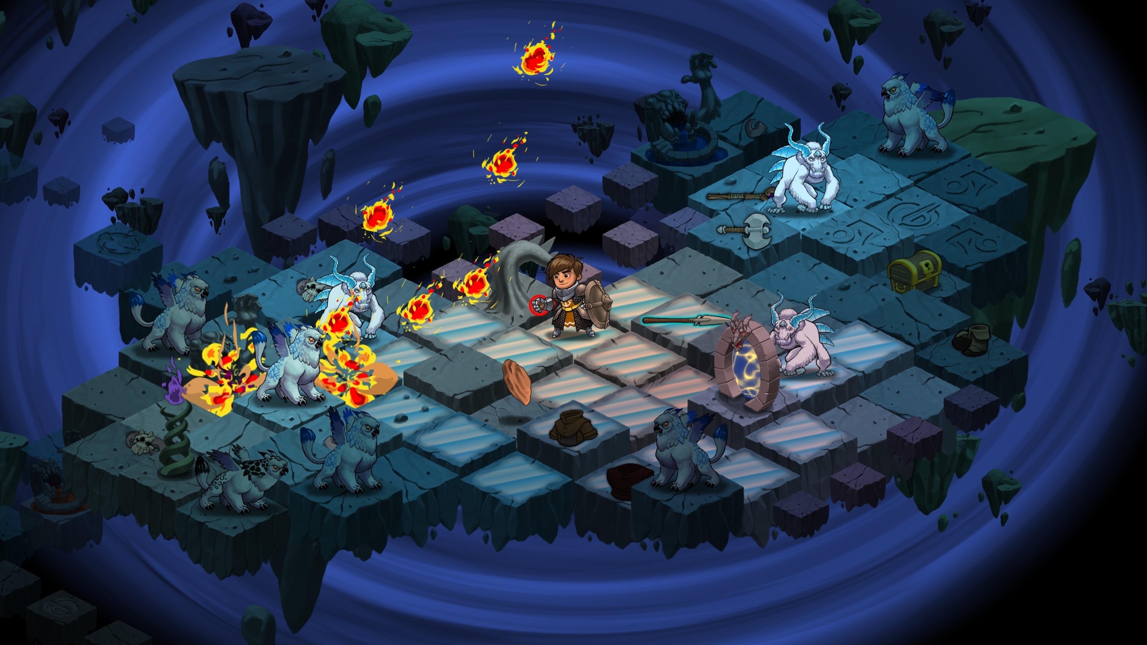Скриншот №5 к Волшебники-разбойники Rogue Wizards