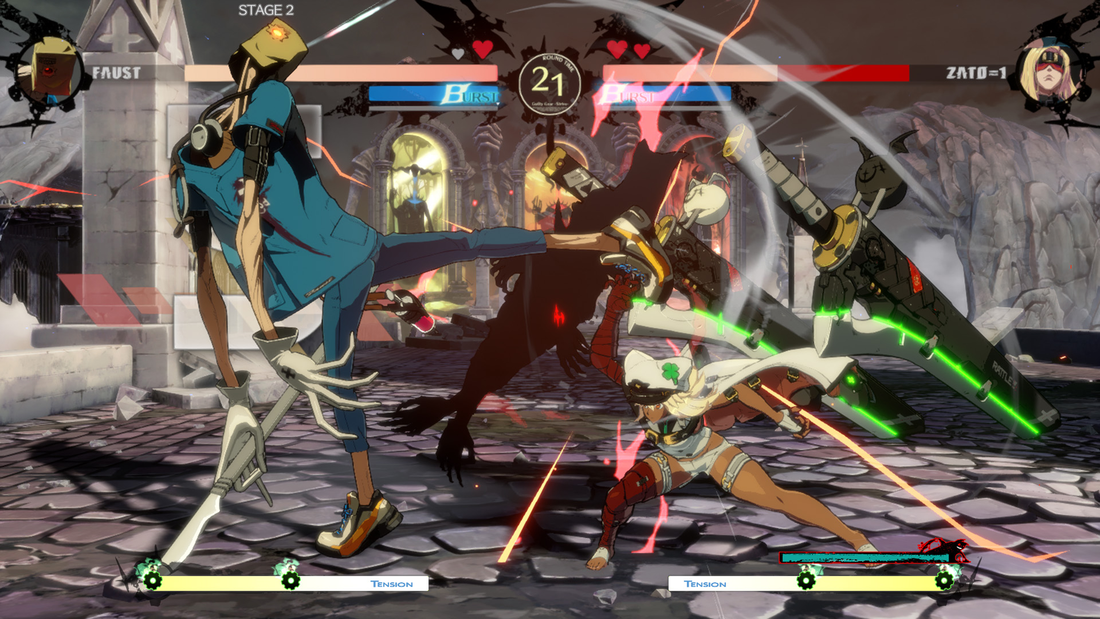 Скриншот №1 к Guilty Gear -Strive- PS4 and PS5