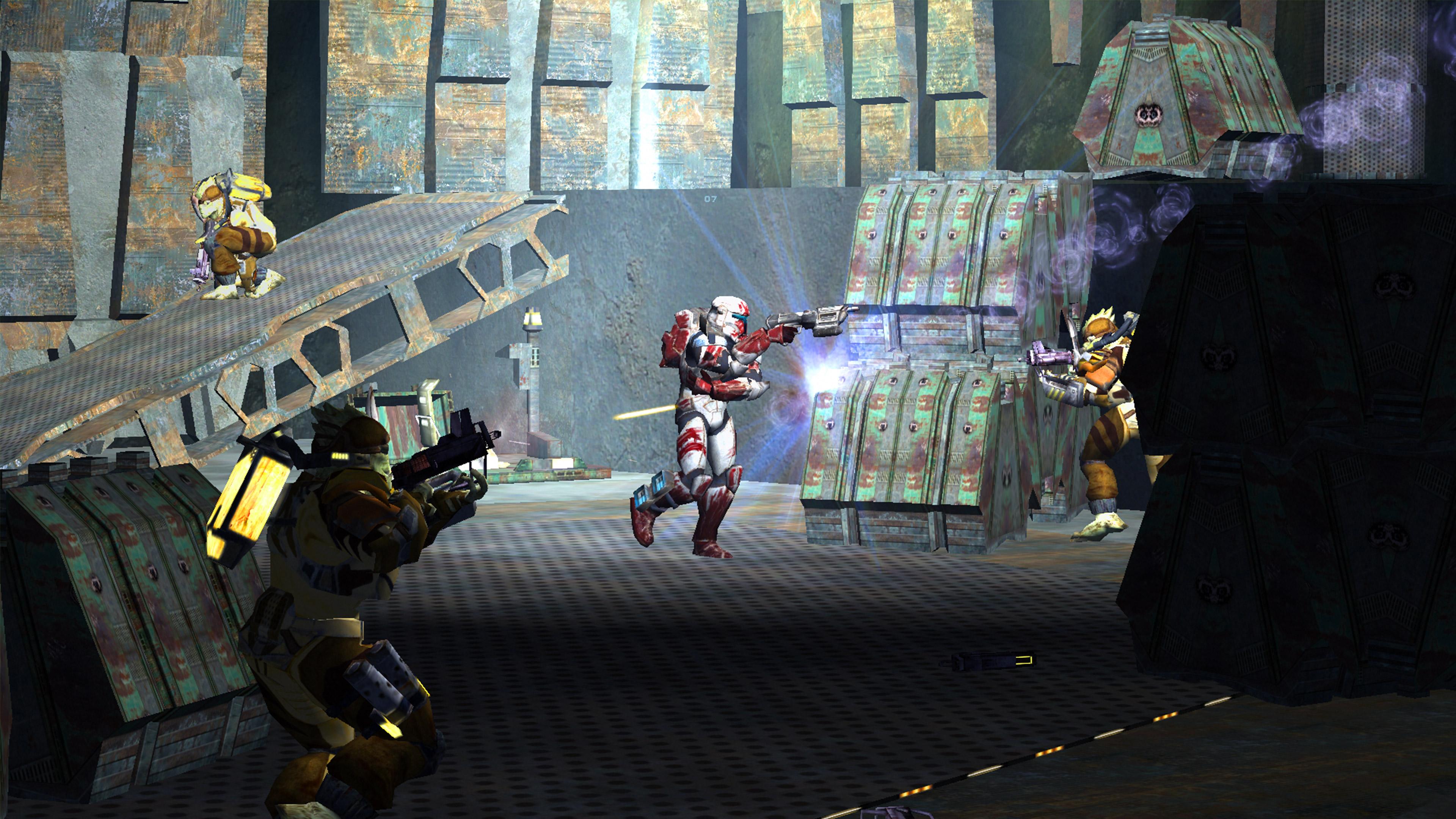 Скриншот №3 к STAR WARS Republic Commando