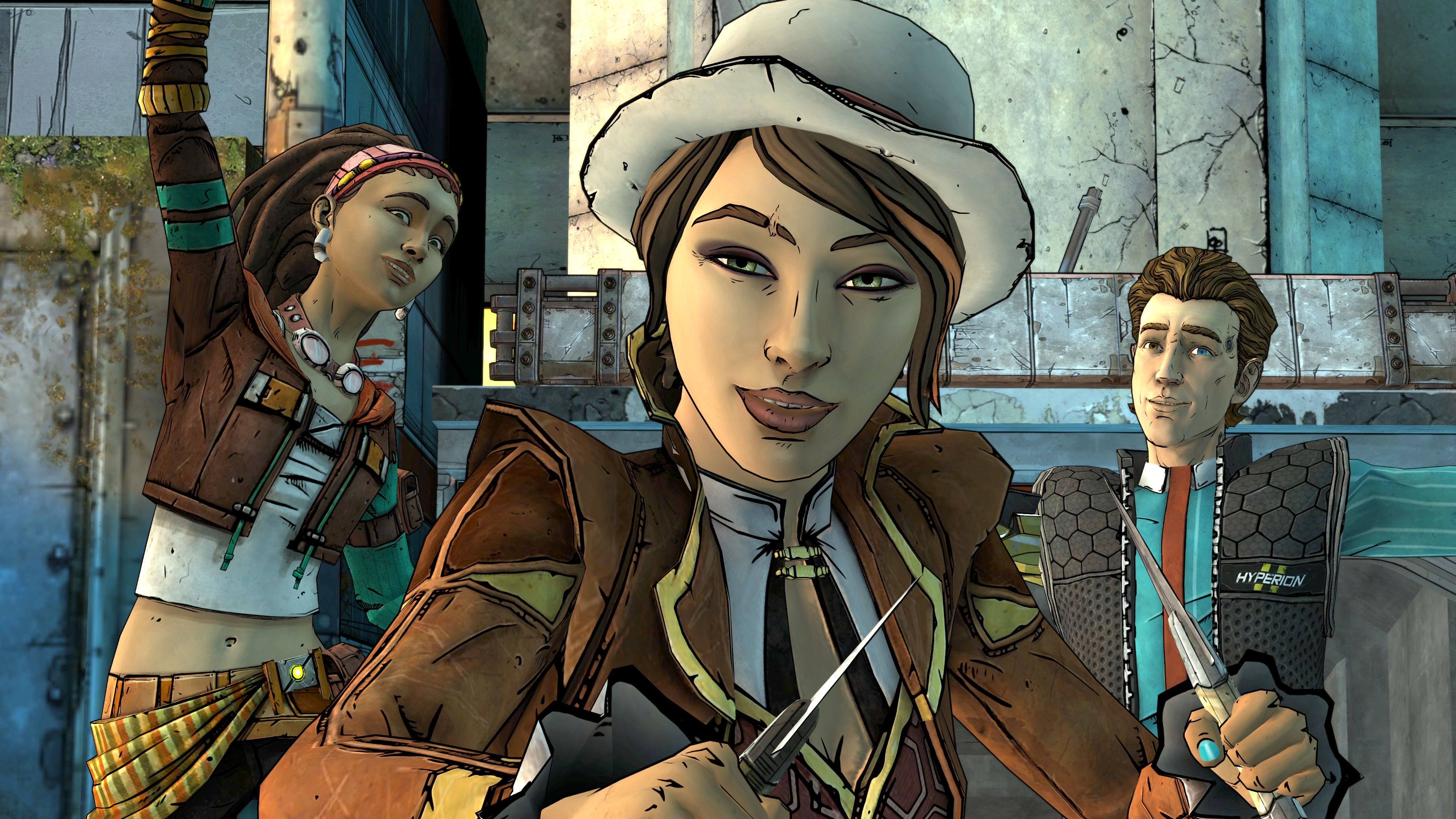Скриншот №2 к Tales from the Borderlands