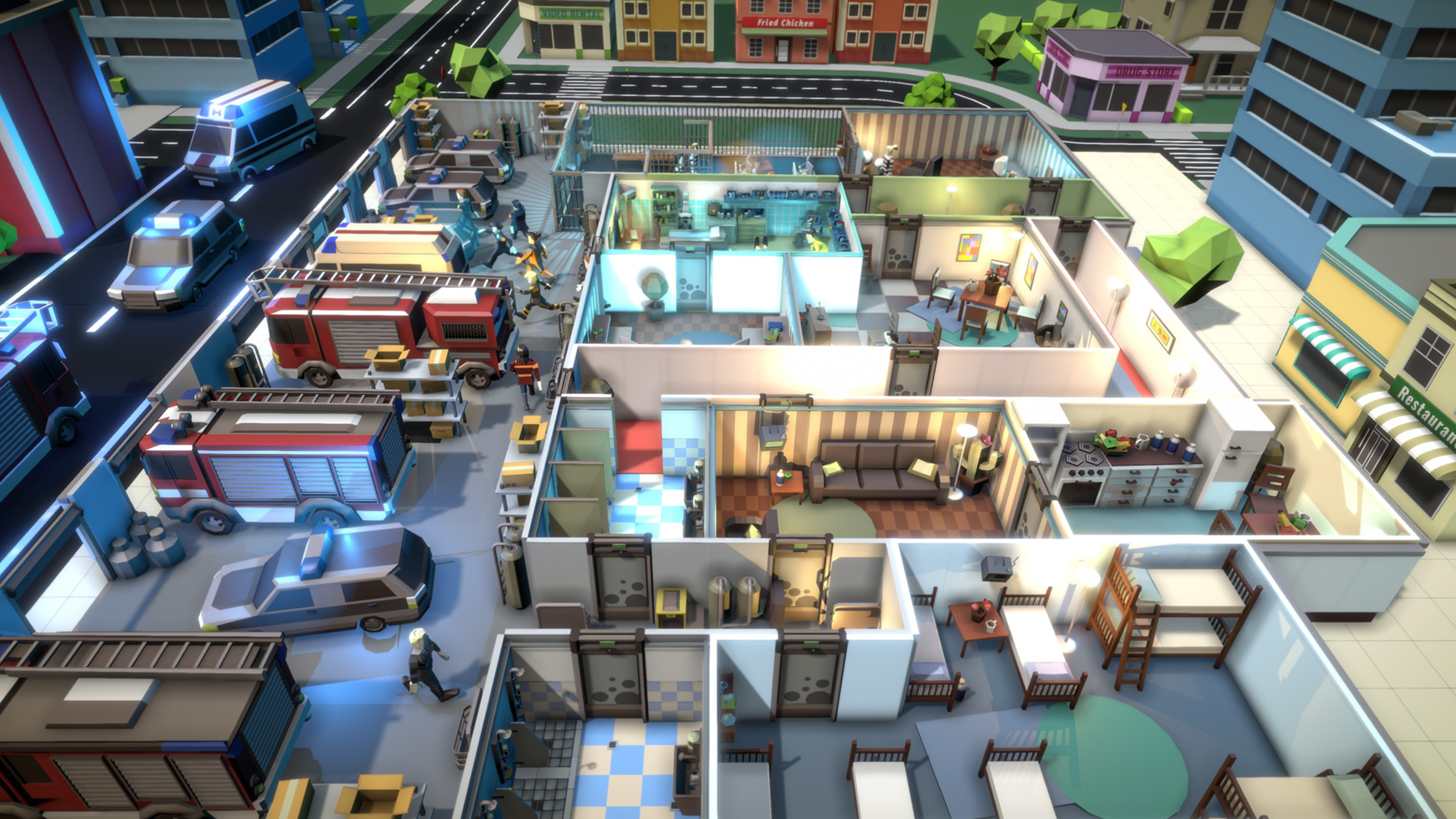 Скриншот №1 к Rescue HQ - The Tycoon