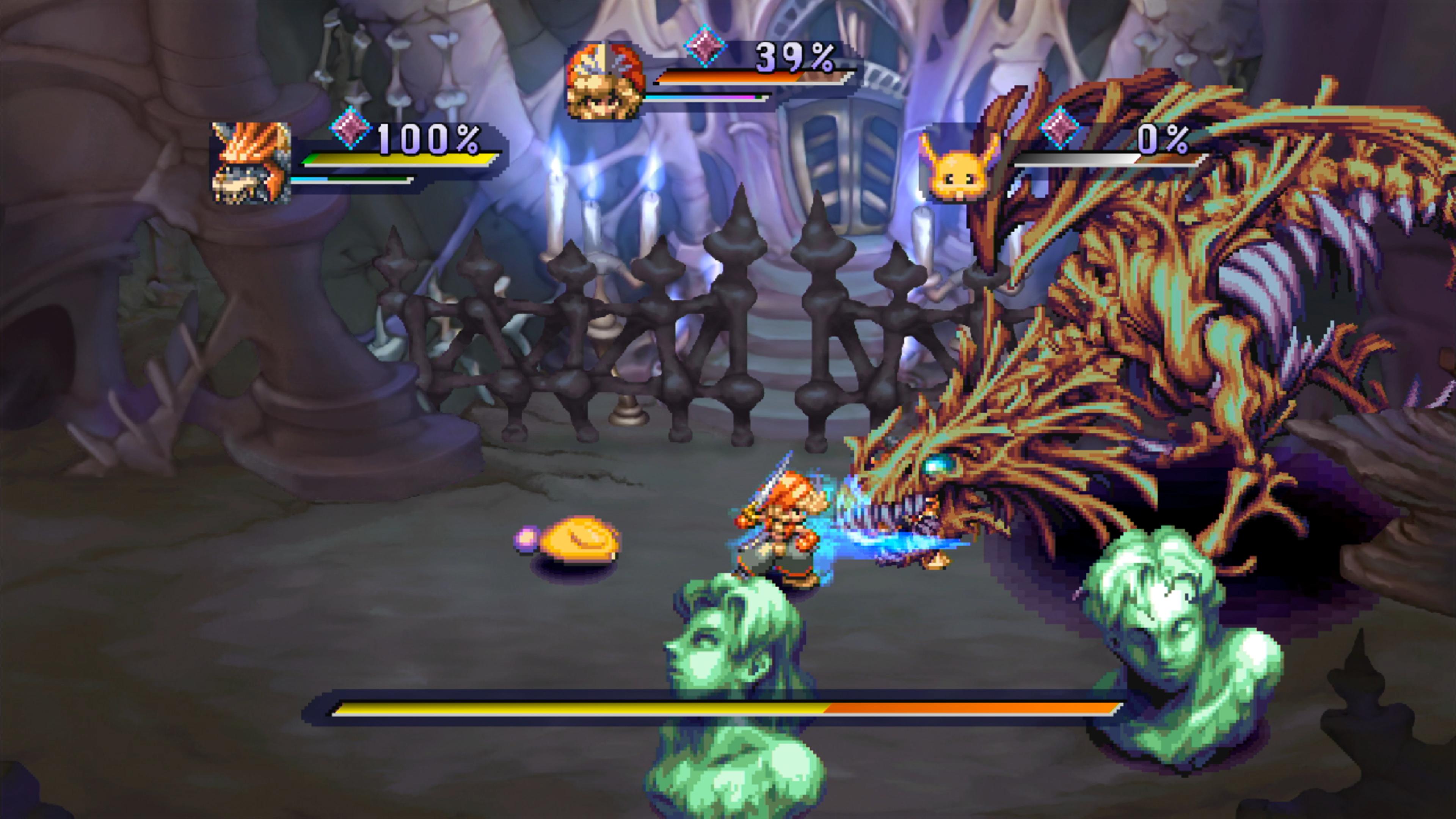 Скриншот №2 к Legend of Mana