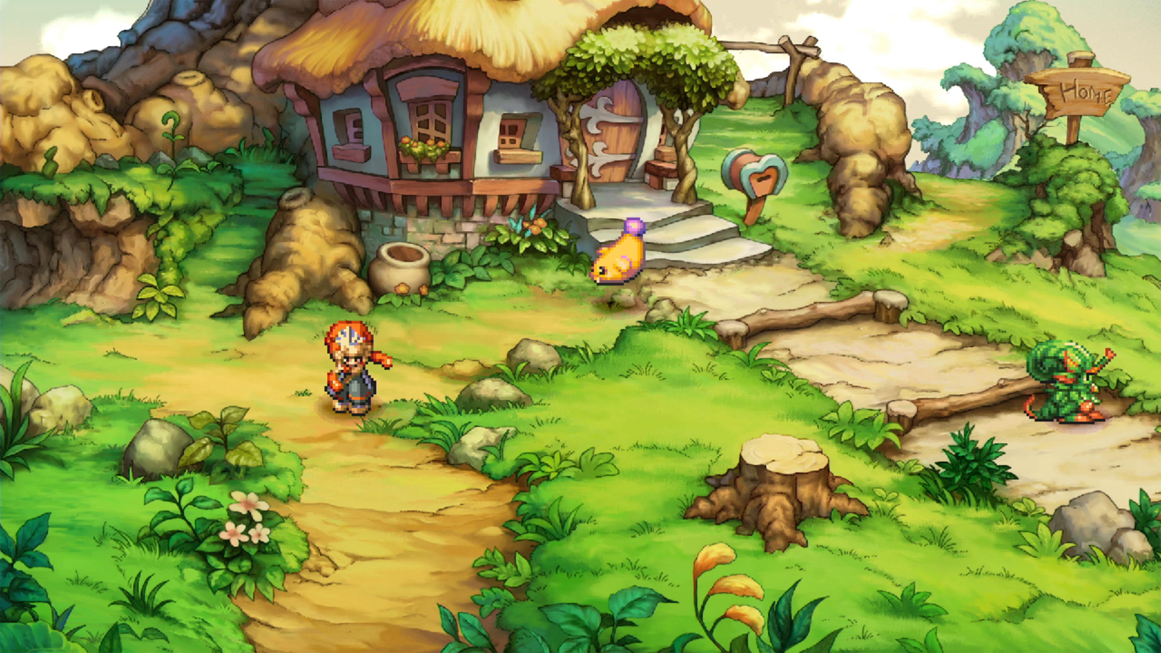 Скриншот №1 к Legend of Mana