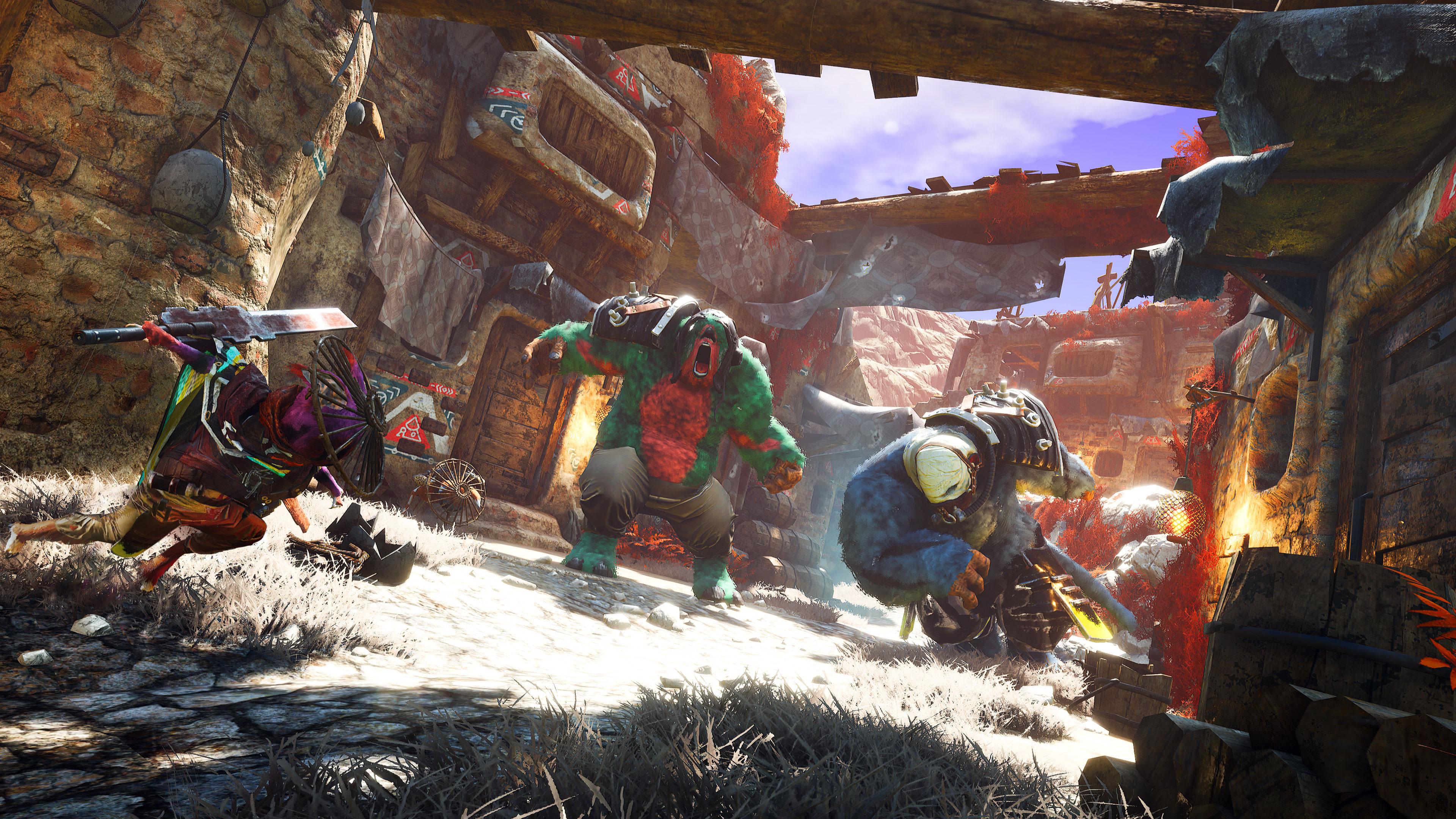 Скриншот №1 к Biomutant