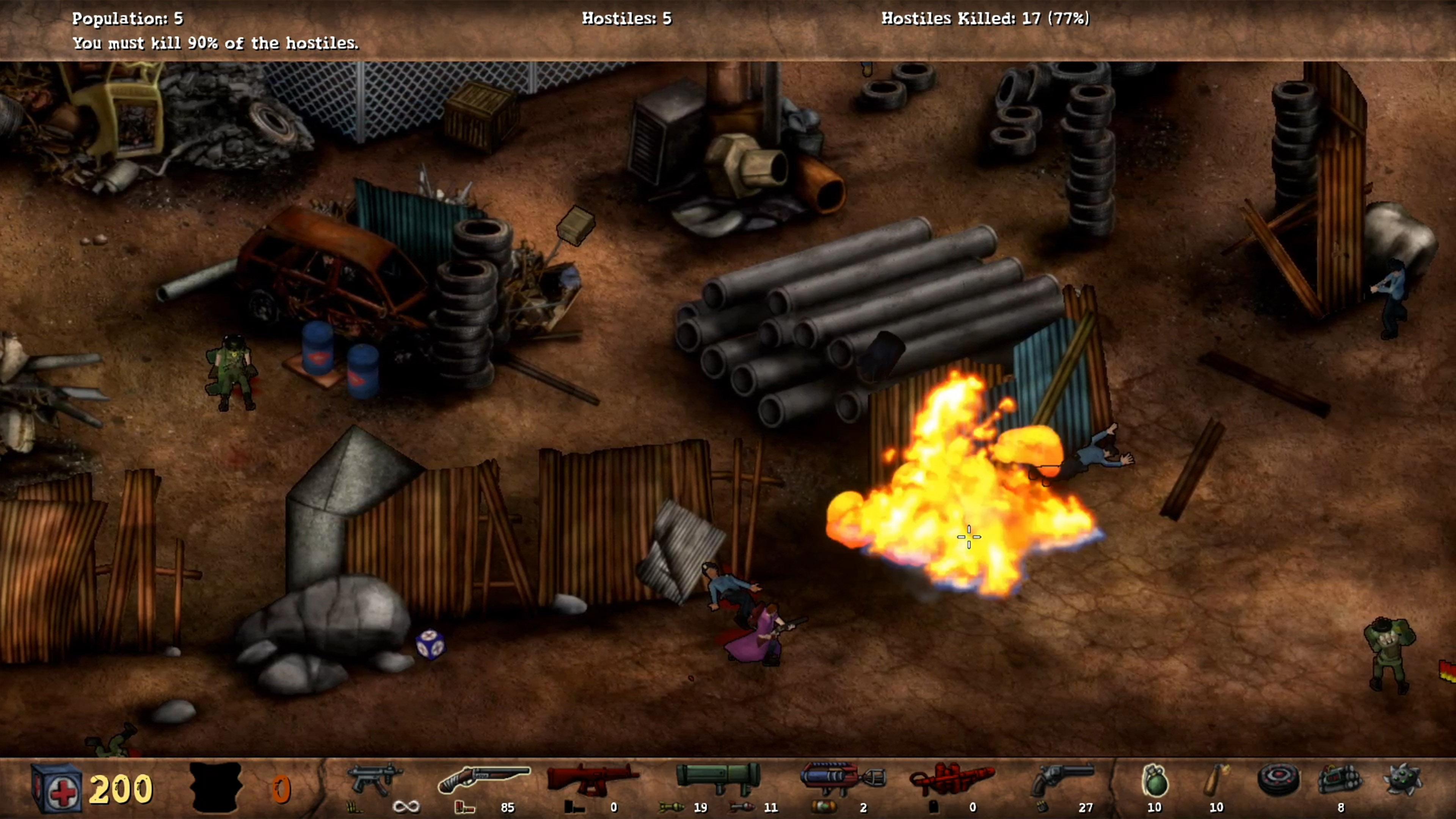 Скриншот №3 к POSTAL Redux