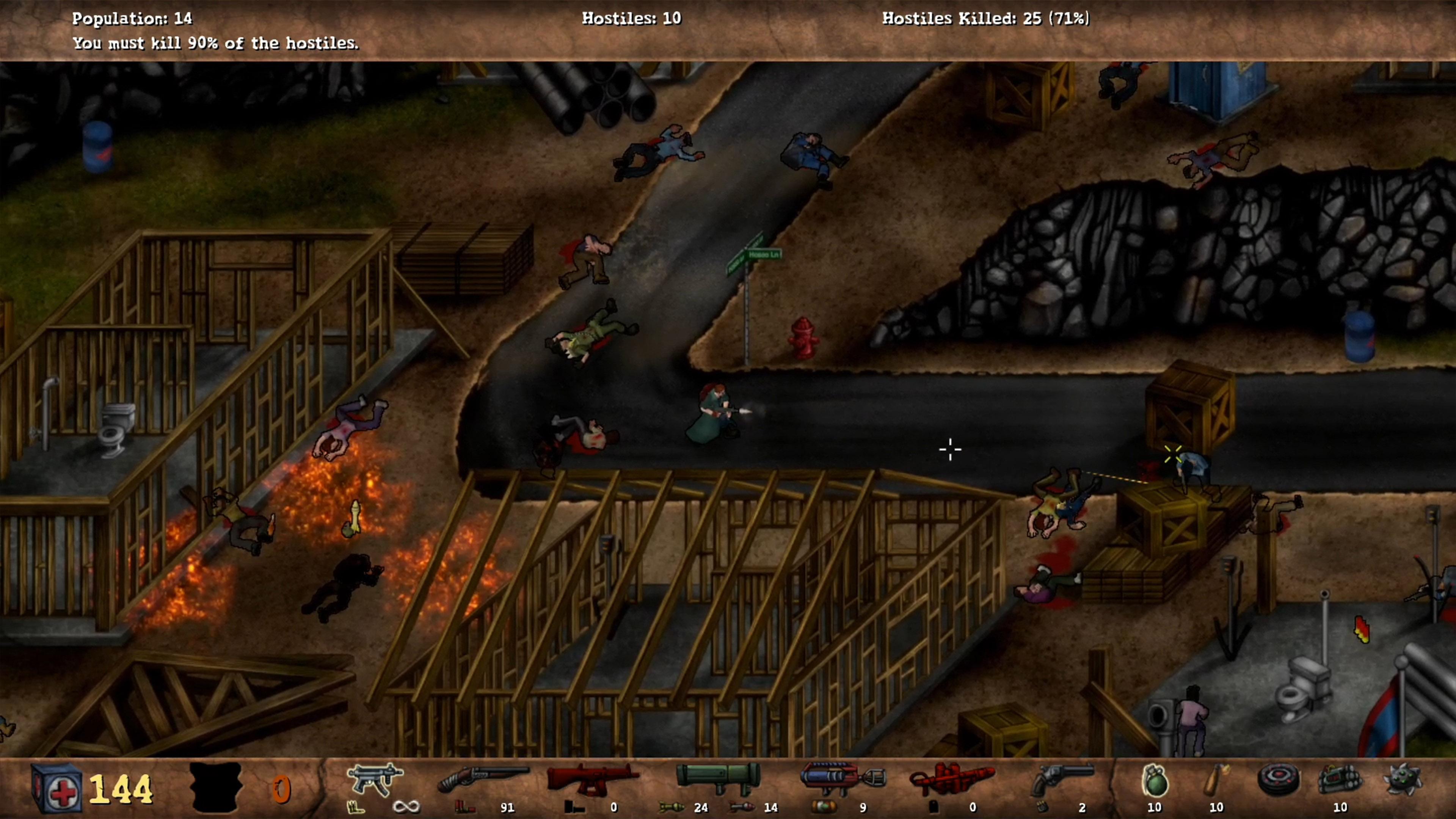 Скриншот №8 к POSTAL Redux