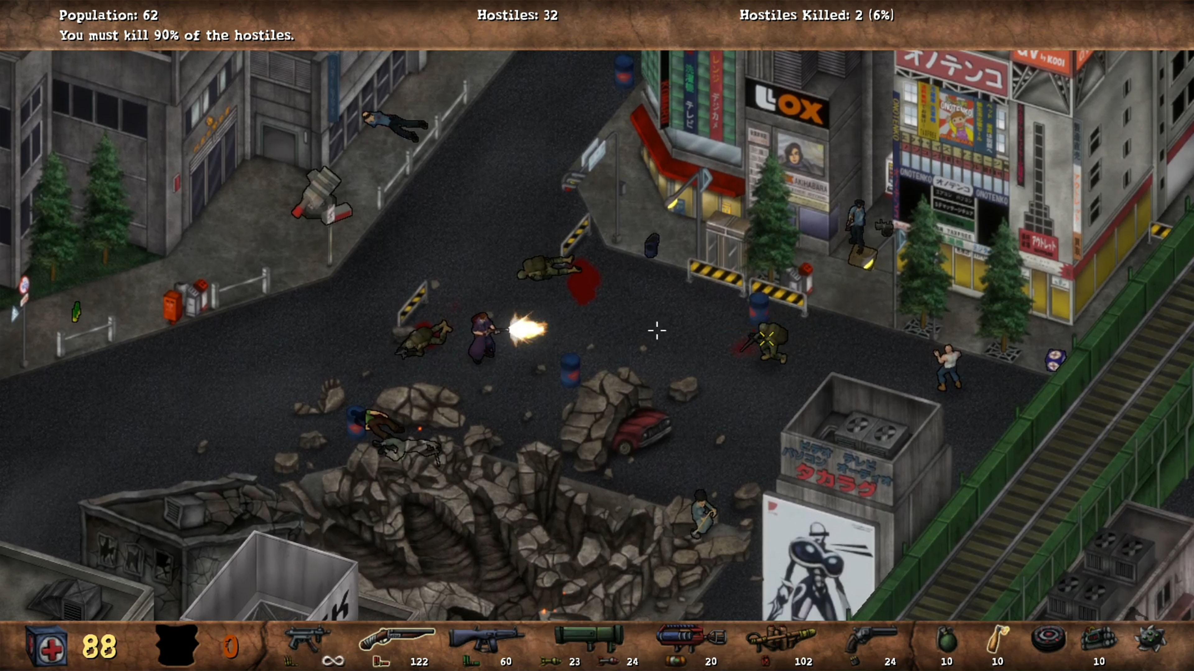 Скриншот №2 к POSTAL Redux