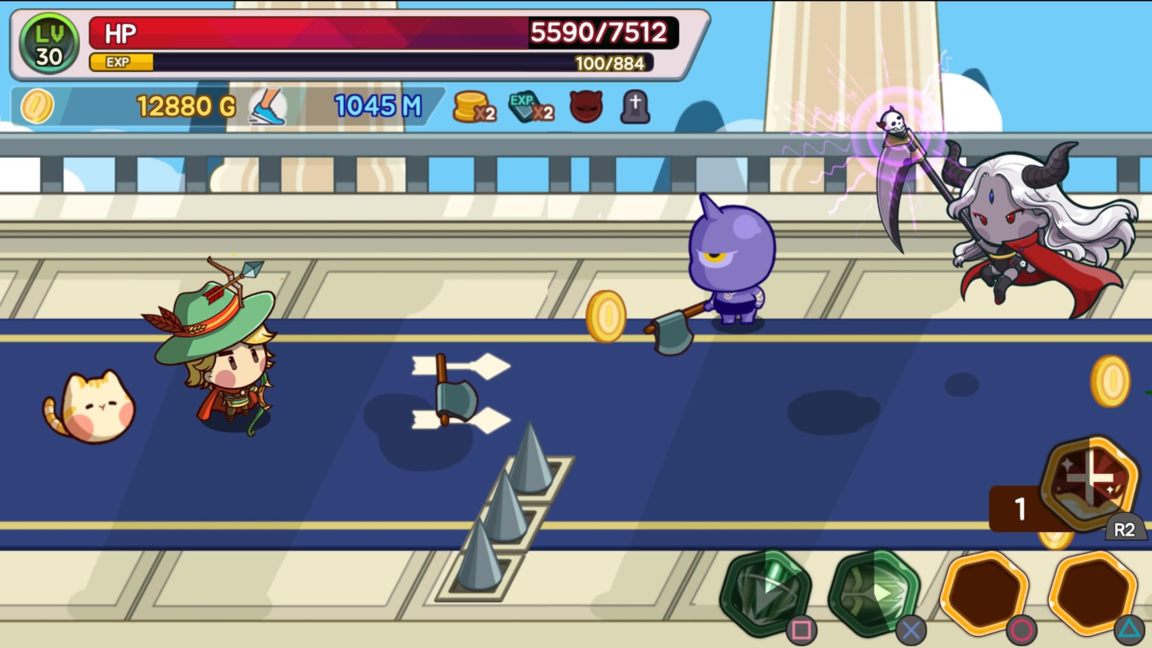 Скриншот №6 к Run Little Hero