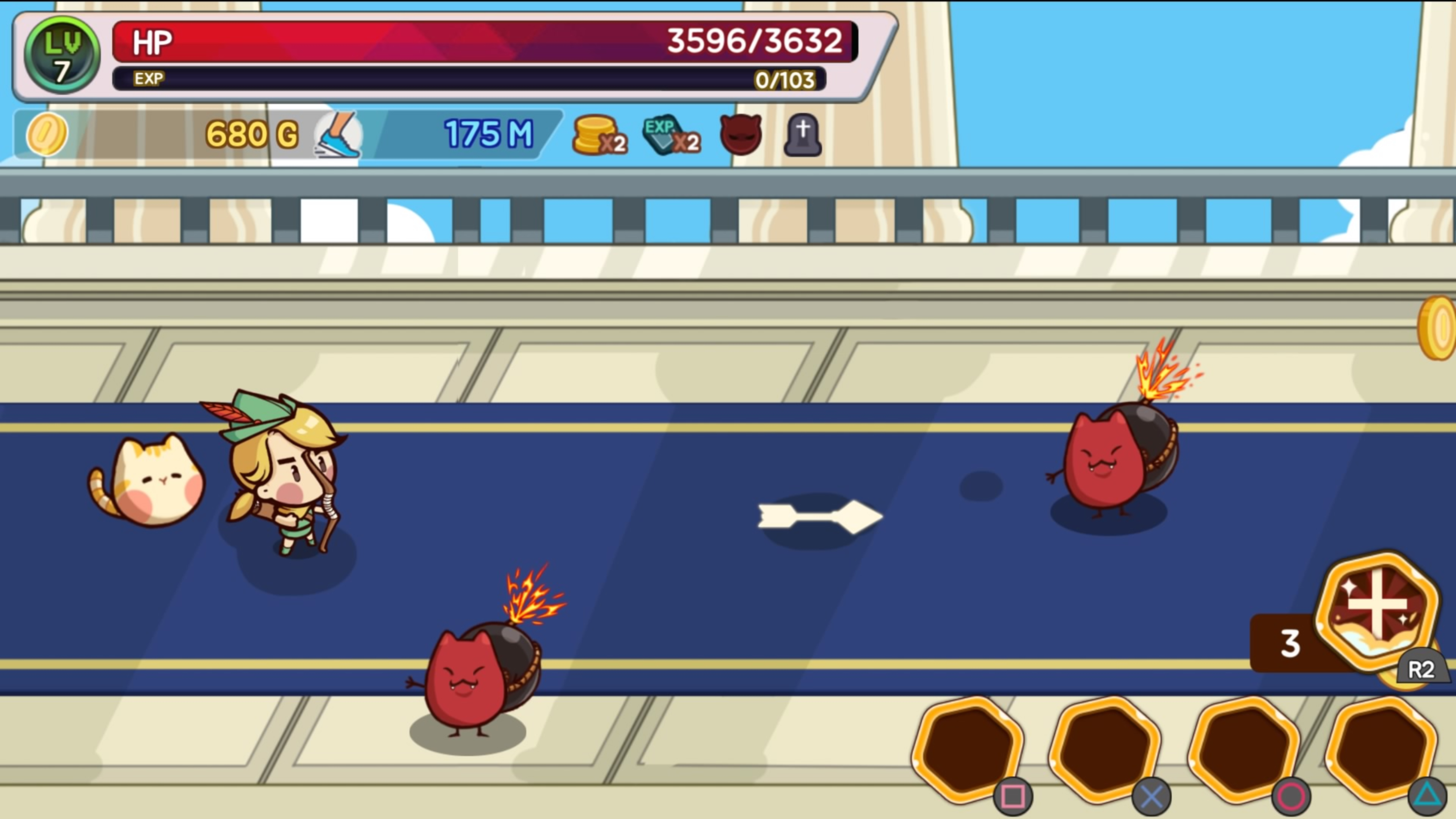 Скриншот №4 к Run Little Hero