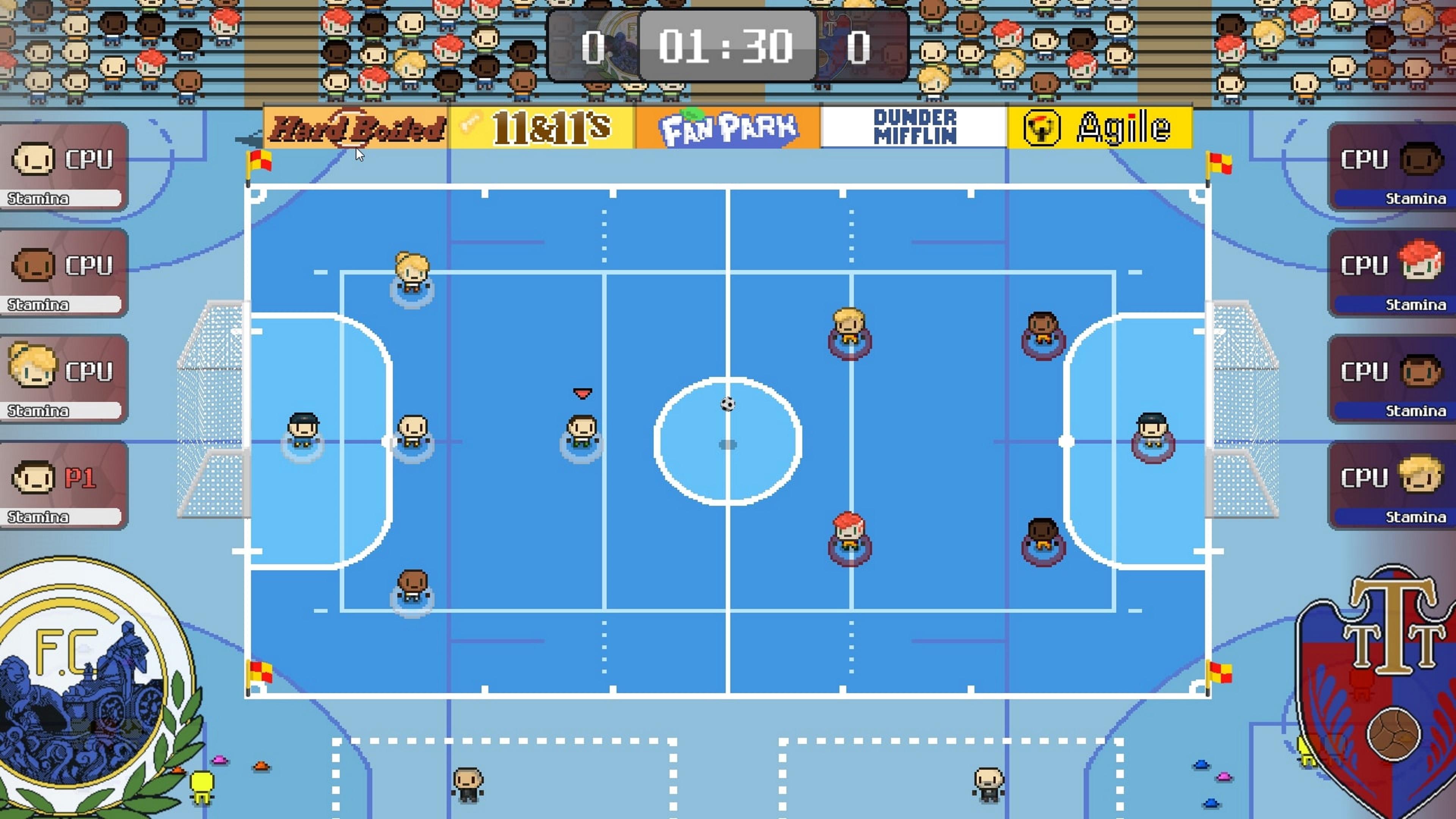 Скриншот №2 к World Soccer Strikers 91