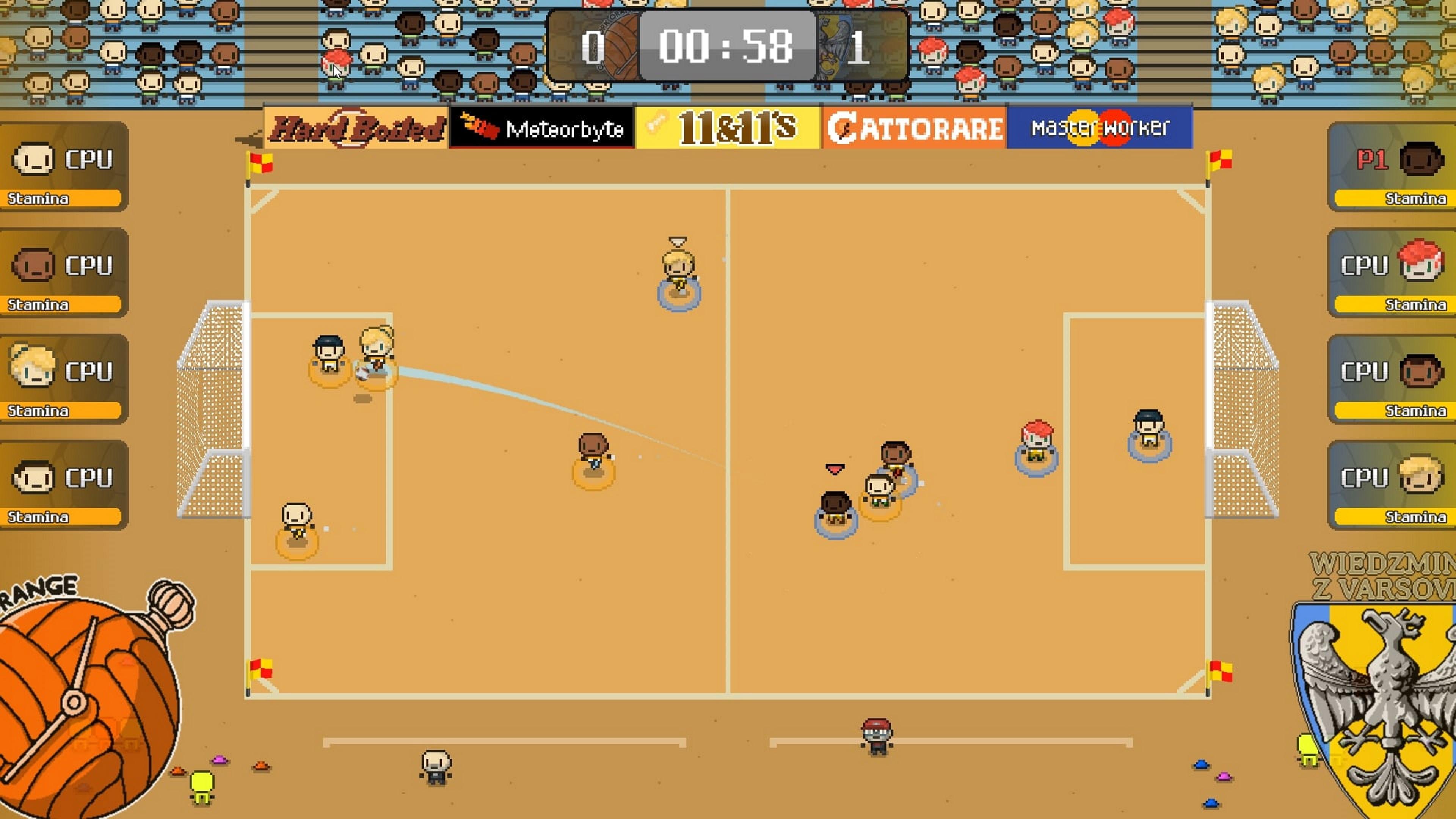 Скриншот №1 к World Soccer Strikers 91