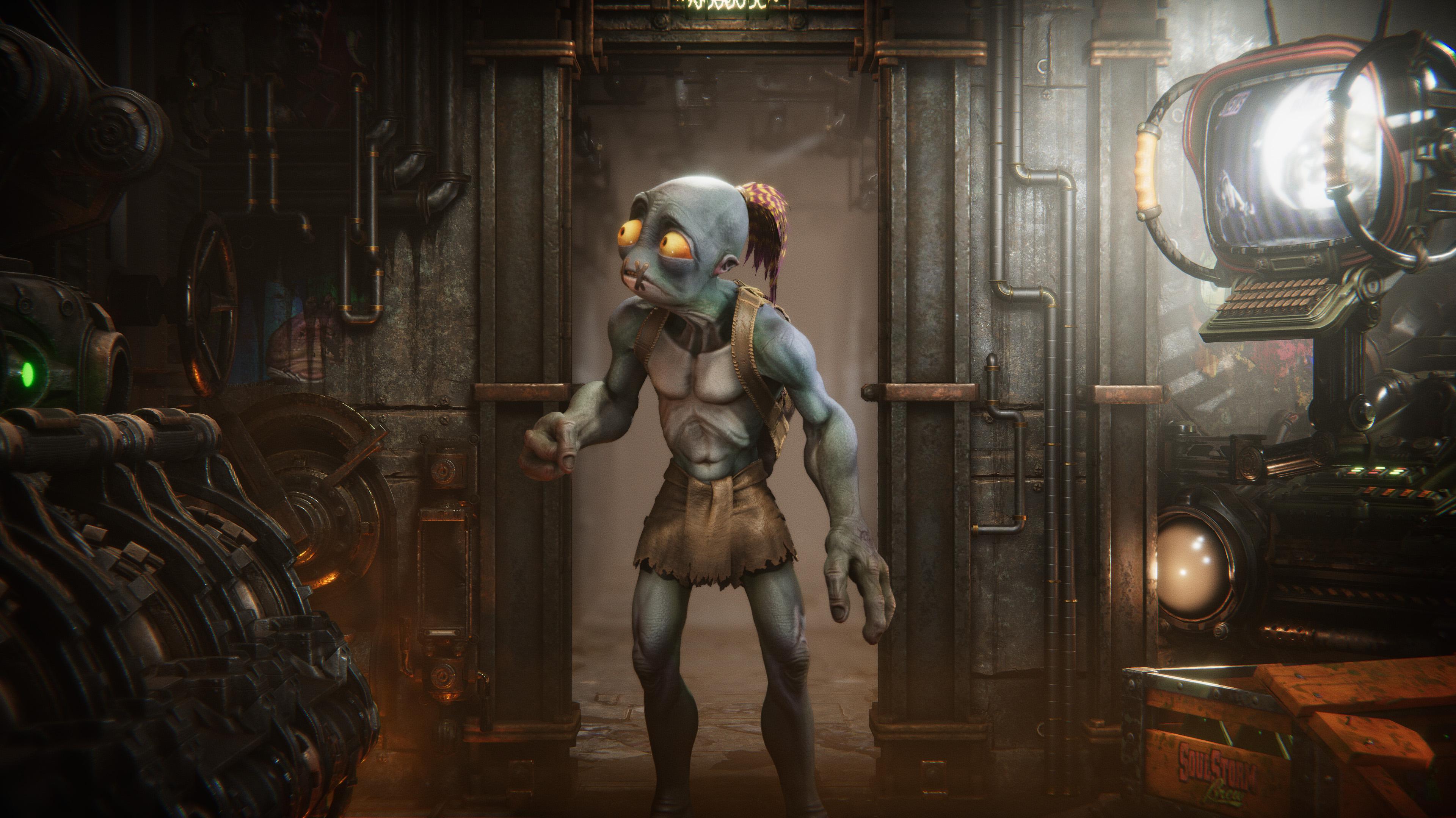 Скриншот №5 к Oddworld Soulstorm
