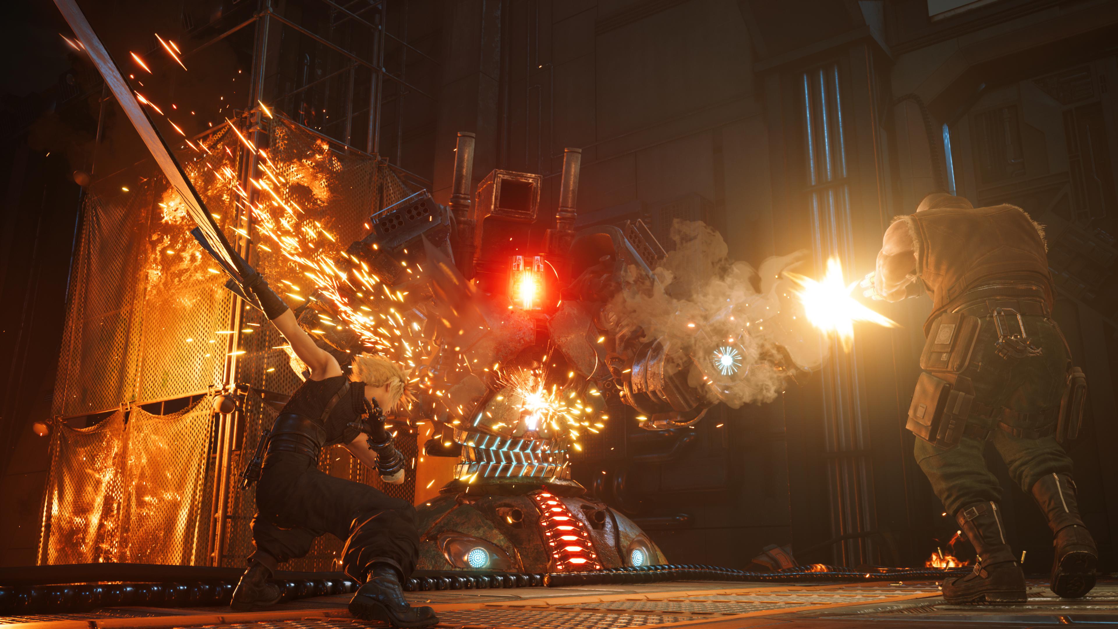 Скриншот №2 к Улучшение до FINAL FANTASY VII REMAKE для владельцев версии для PS4