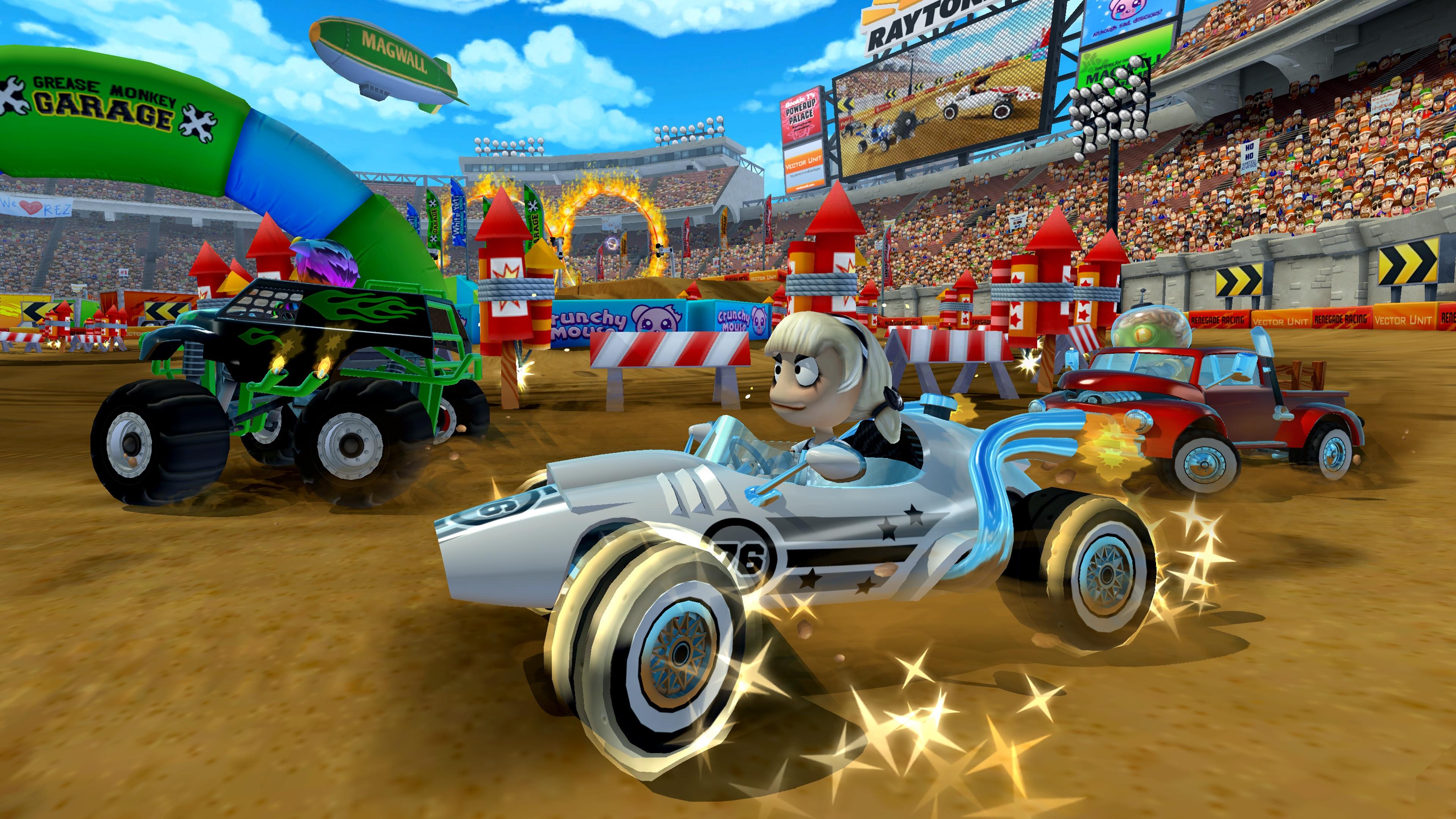 Скриншот №2 к Beach Buggy Racing 2 Hot Wheels Edition