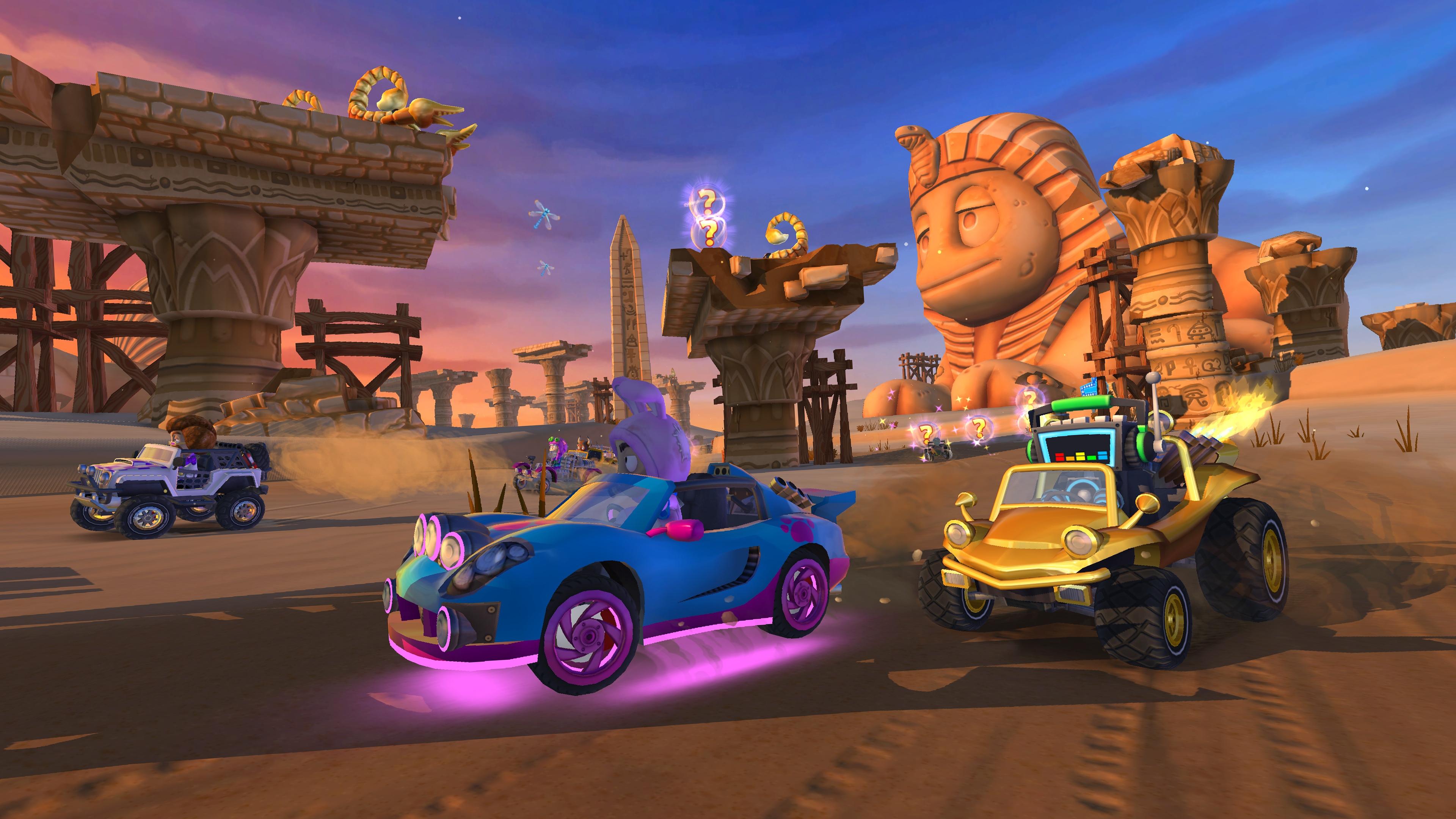 Скриншот №3 к Beach Buggy Racing 2 Island Adventure