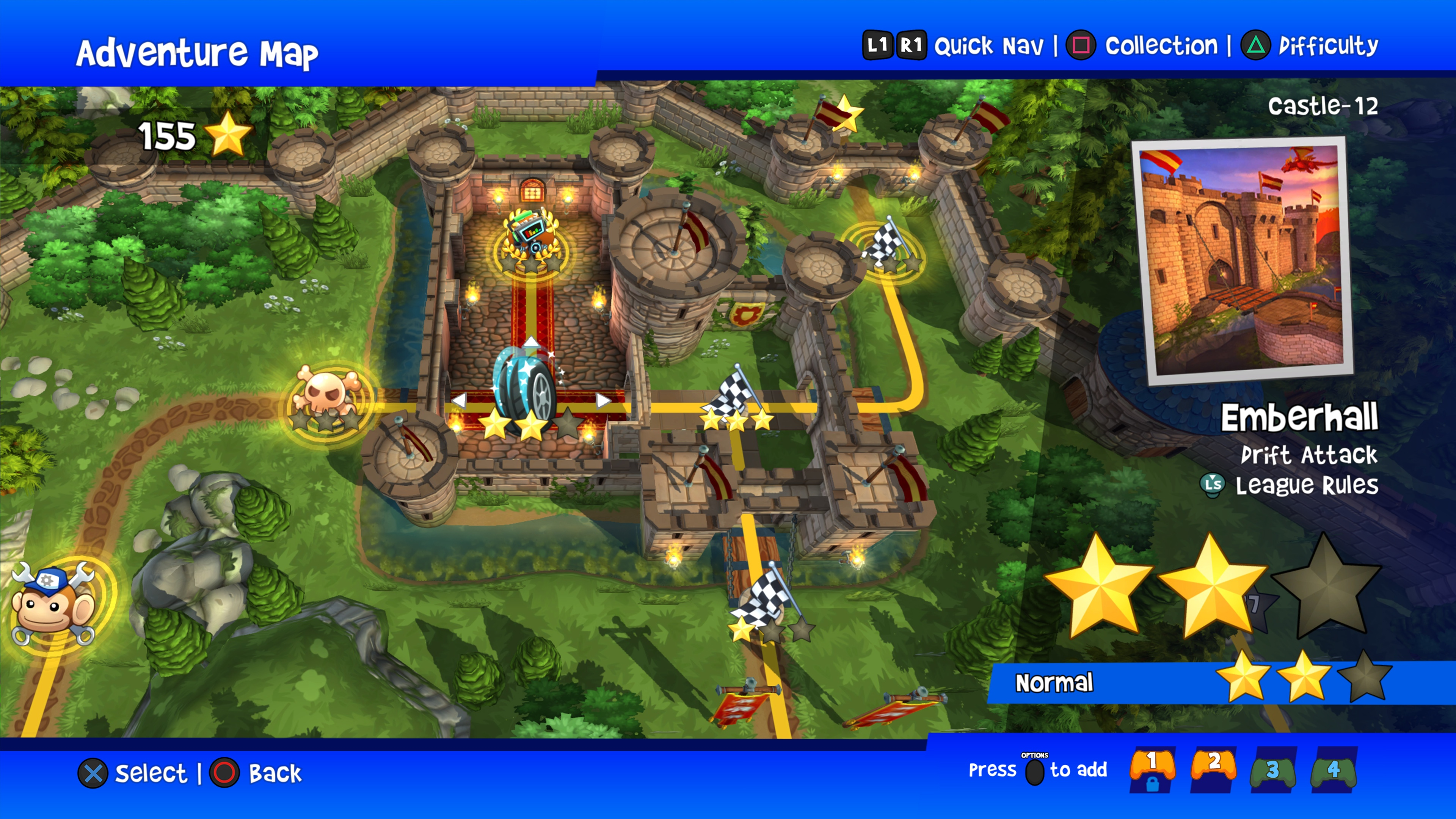 Скриншот №1 к Beach Buggy Racing 2 Hot Wheels Edition