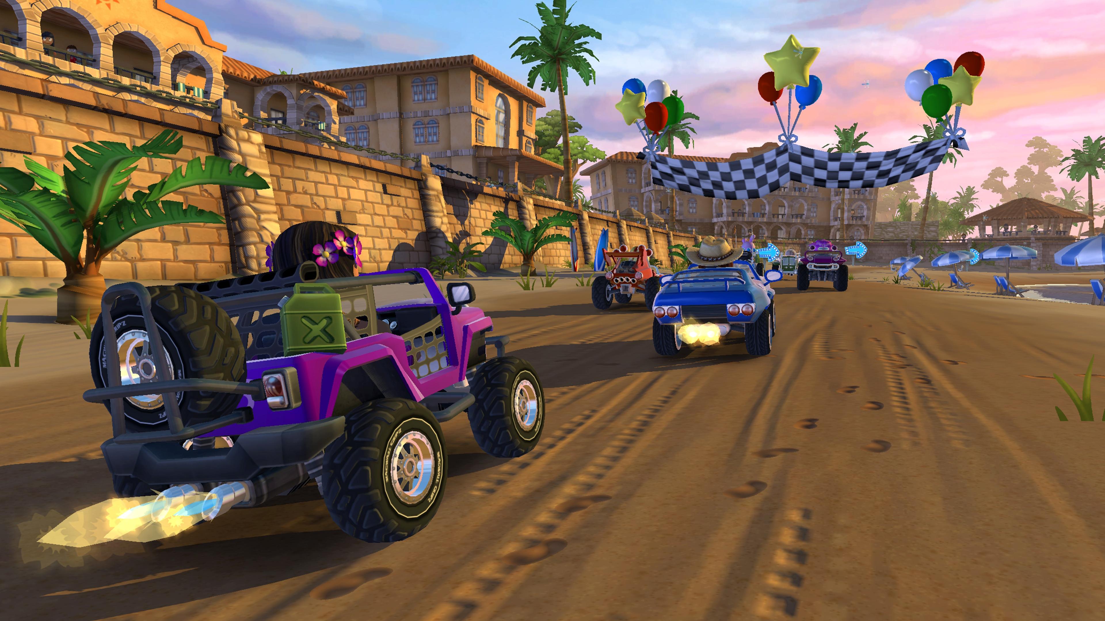 Скриншот №3 к Beach Buggy Racing 2 Hot Wheels Edition