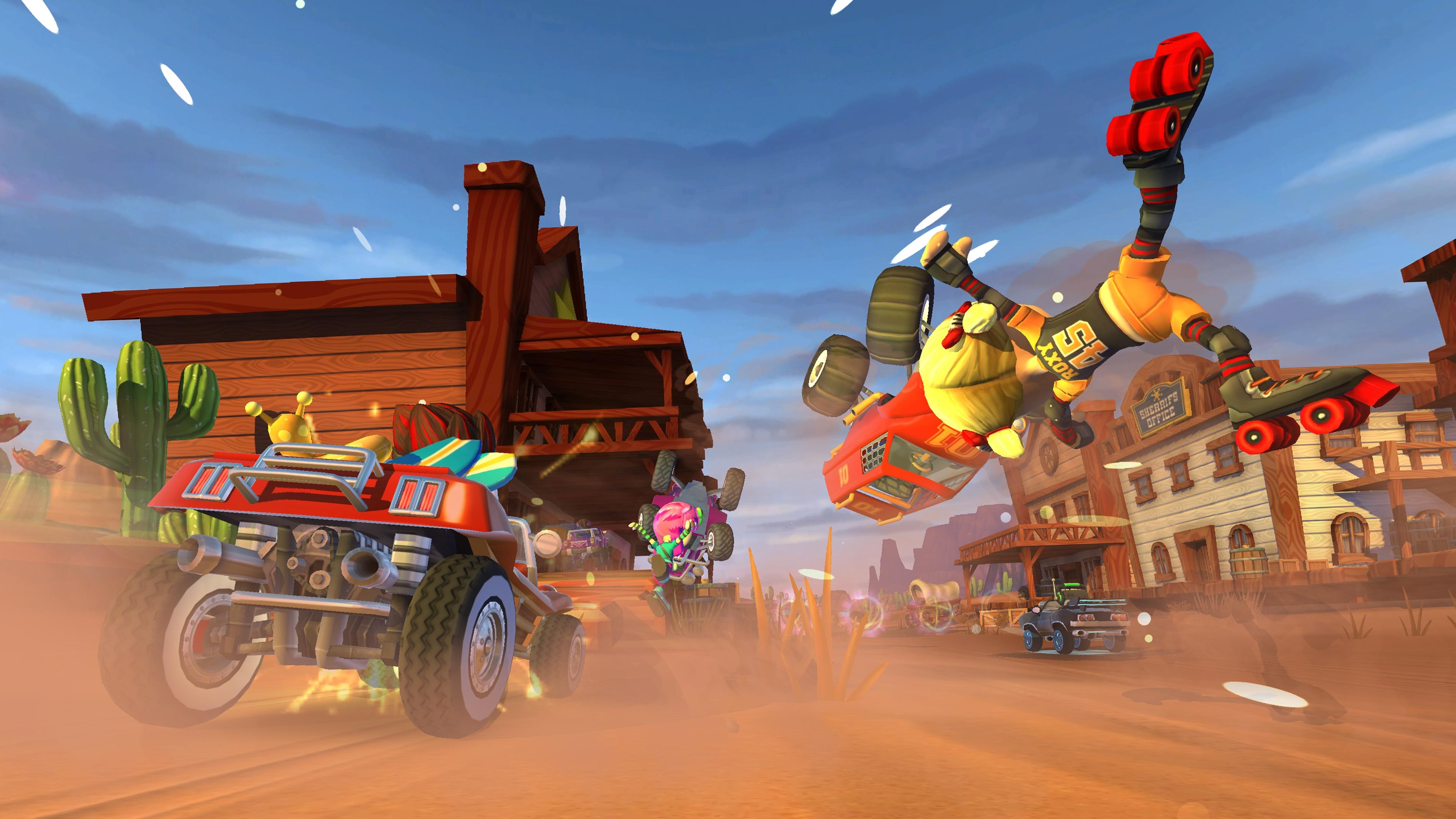 Скриншот №5 к Beach Buggy Racing 2 Island Adventure
