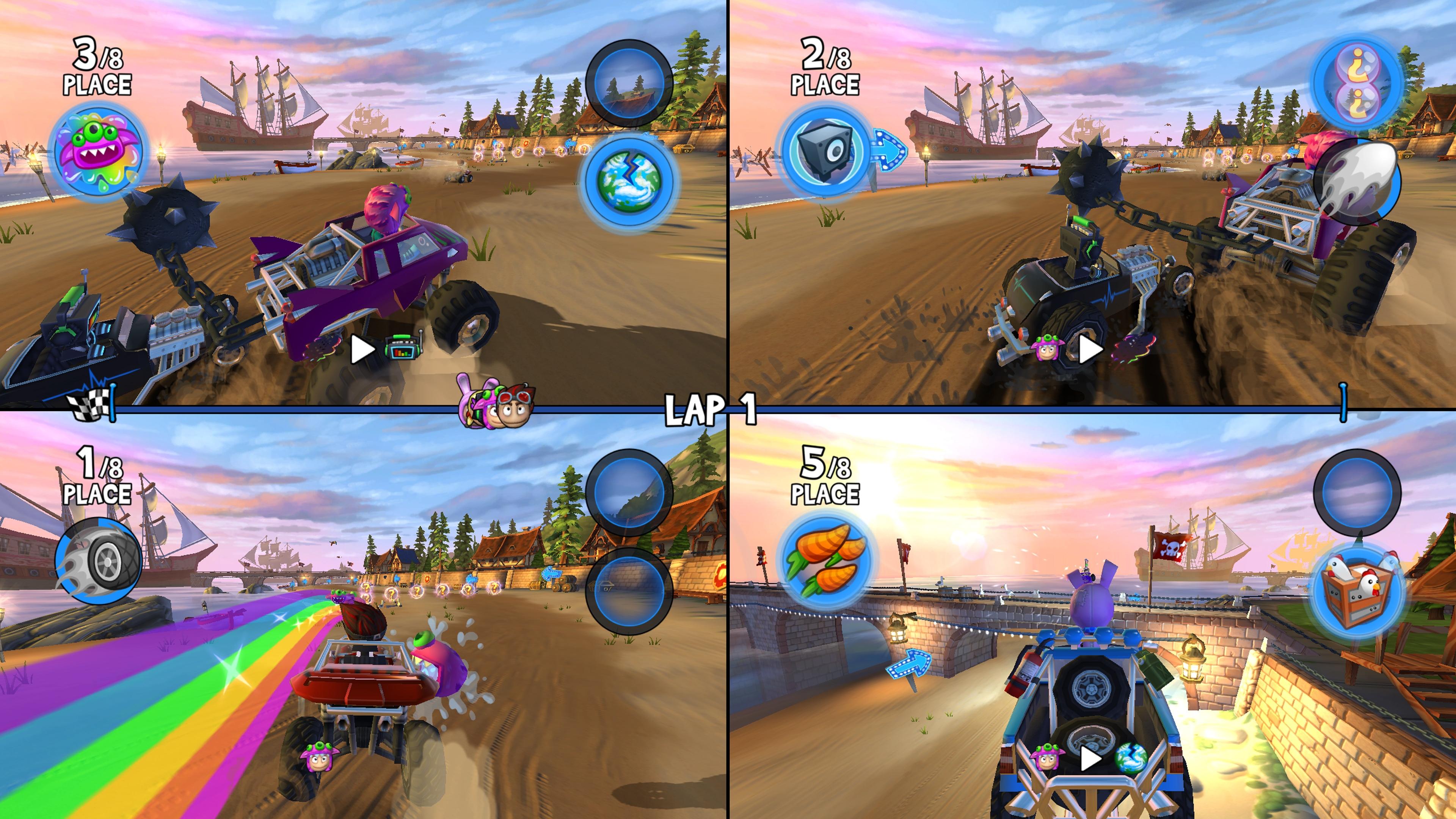 Скриншот №4 к Beach Buggy Racing 2 Hot Wheels Edition