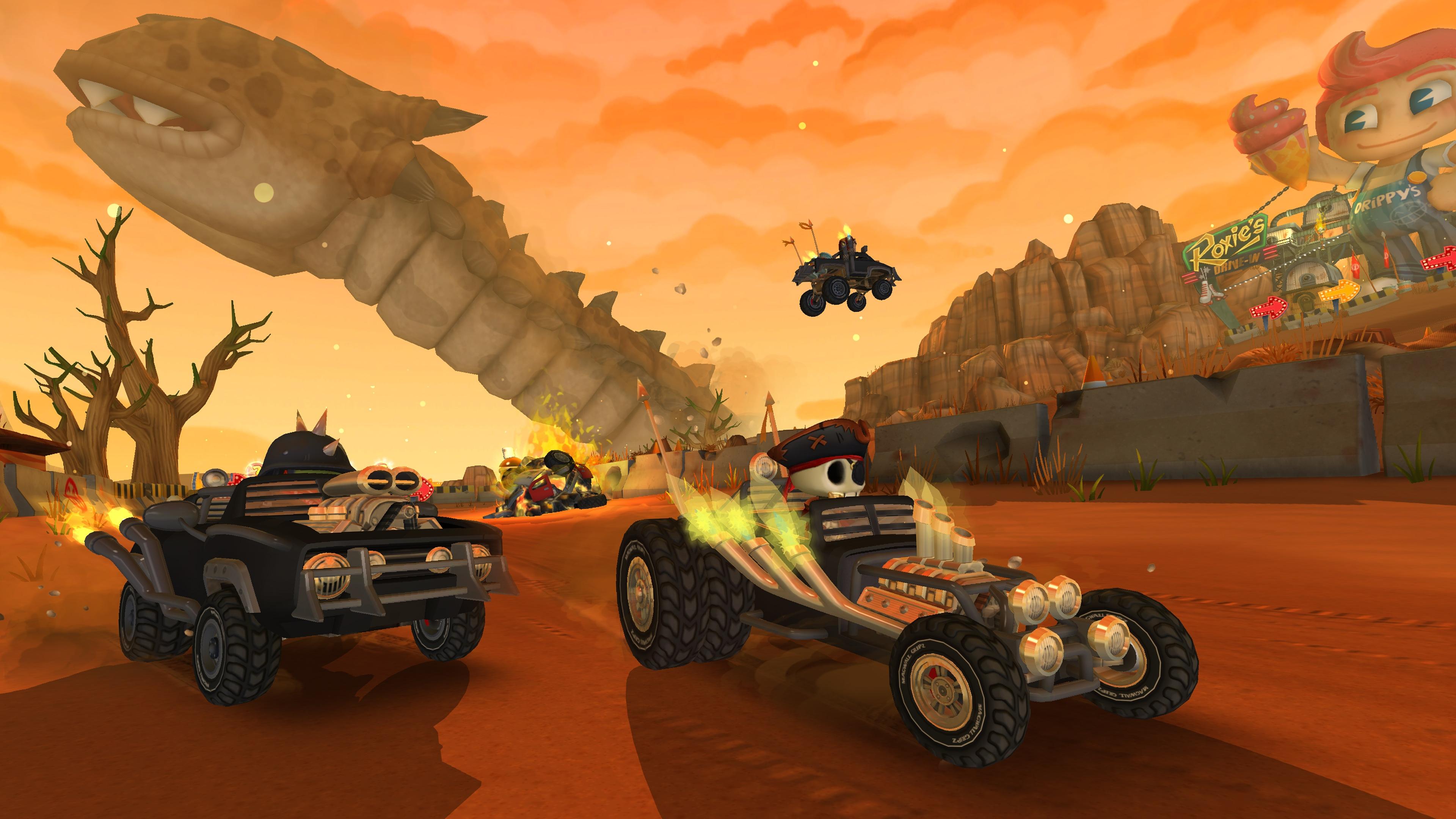 Скриншот №8 к Beach Buggy Racing 2 Island Adventure