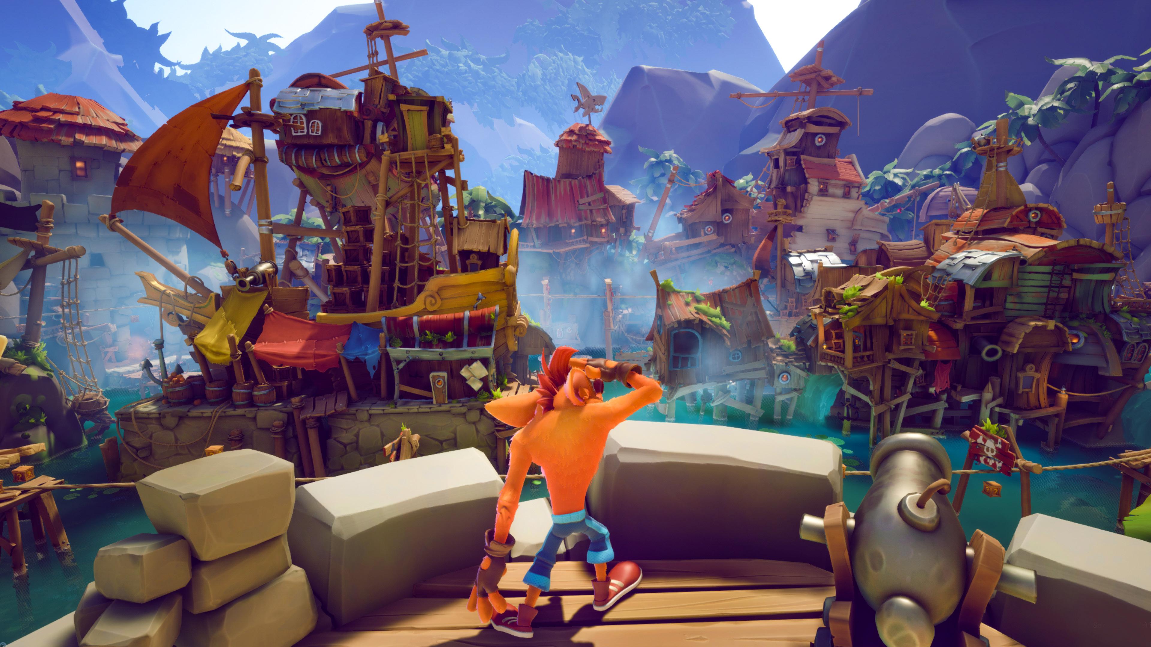 Скриншот №2 к Crash Bandicoot 4 Это вопрос времени
