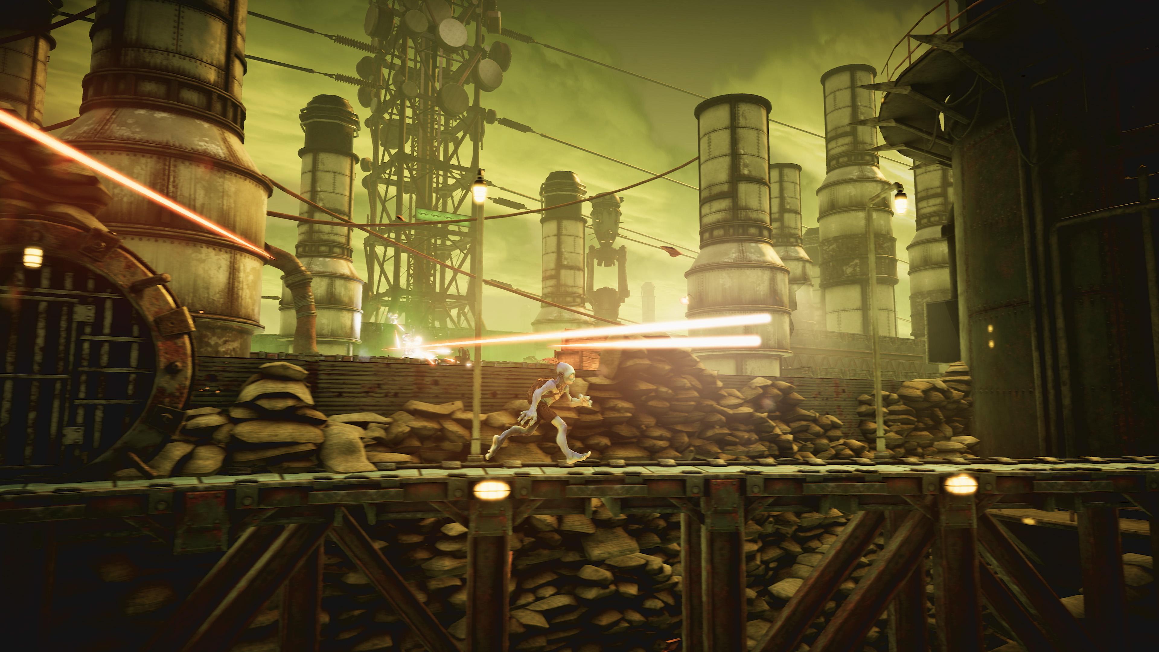 Скриншот №9 к Oddworld Soulstorm